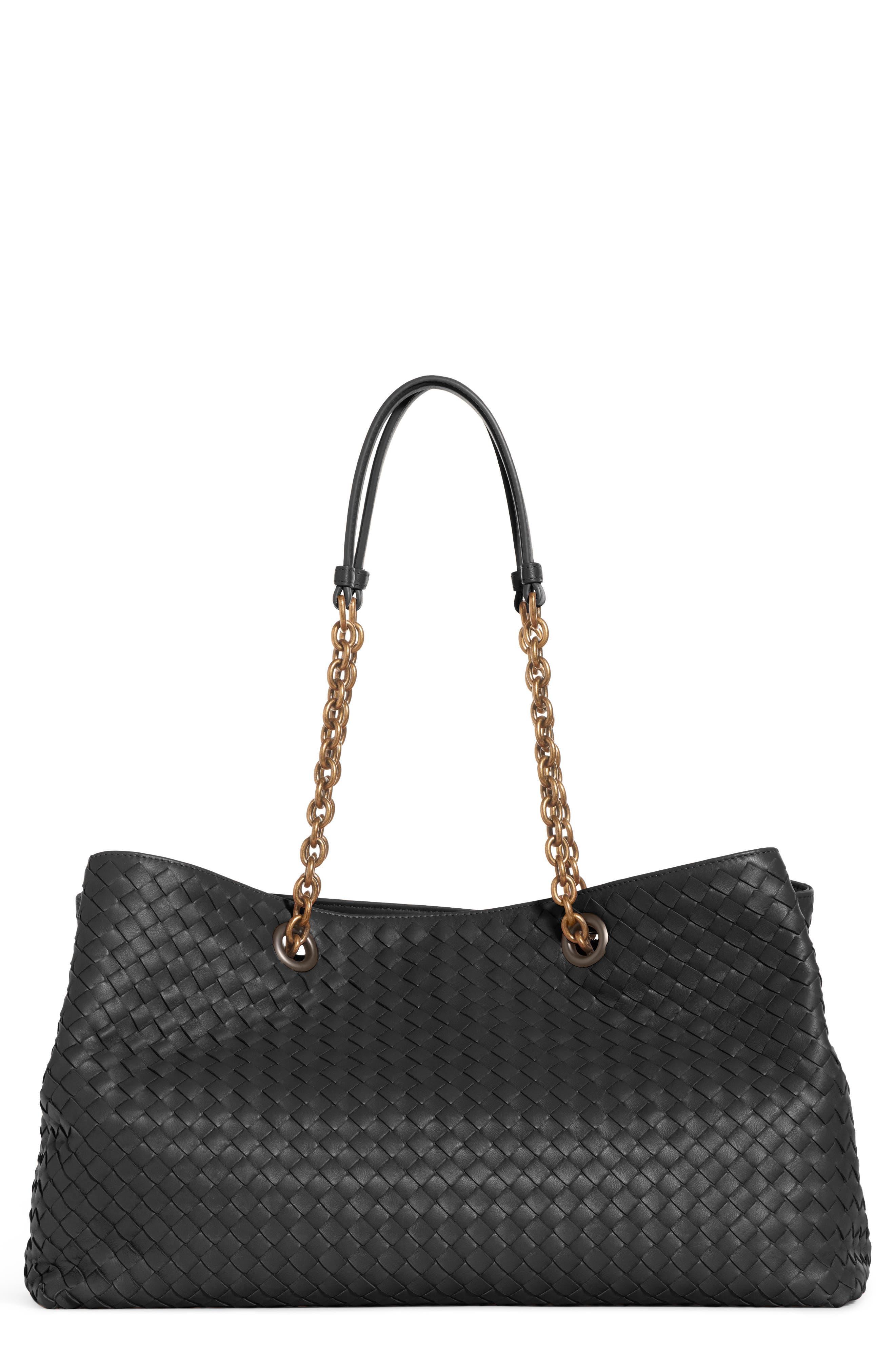 Bottega Veneta Medium Intrecciato Leather Tote Bag
