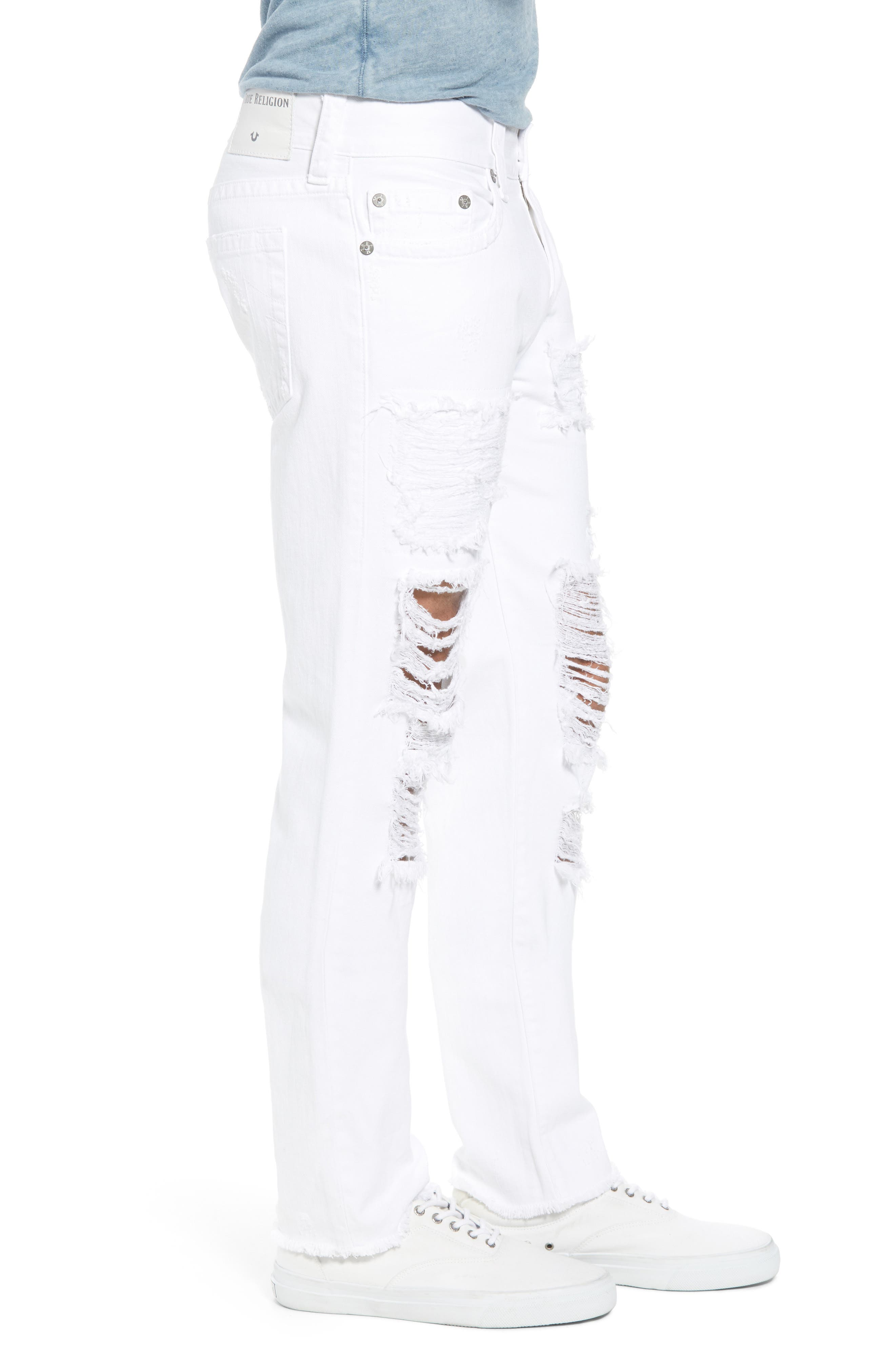 Rocco Skinny Fit jeans,                             Alternate thumbnail 2, color,                             White Volcanic Ash