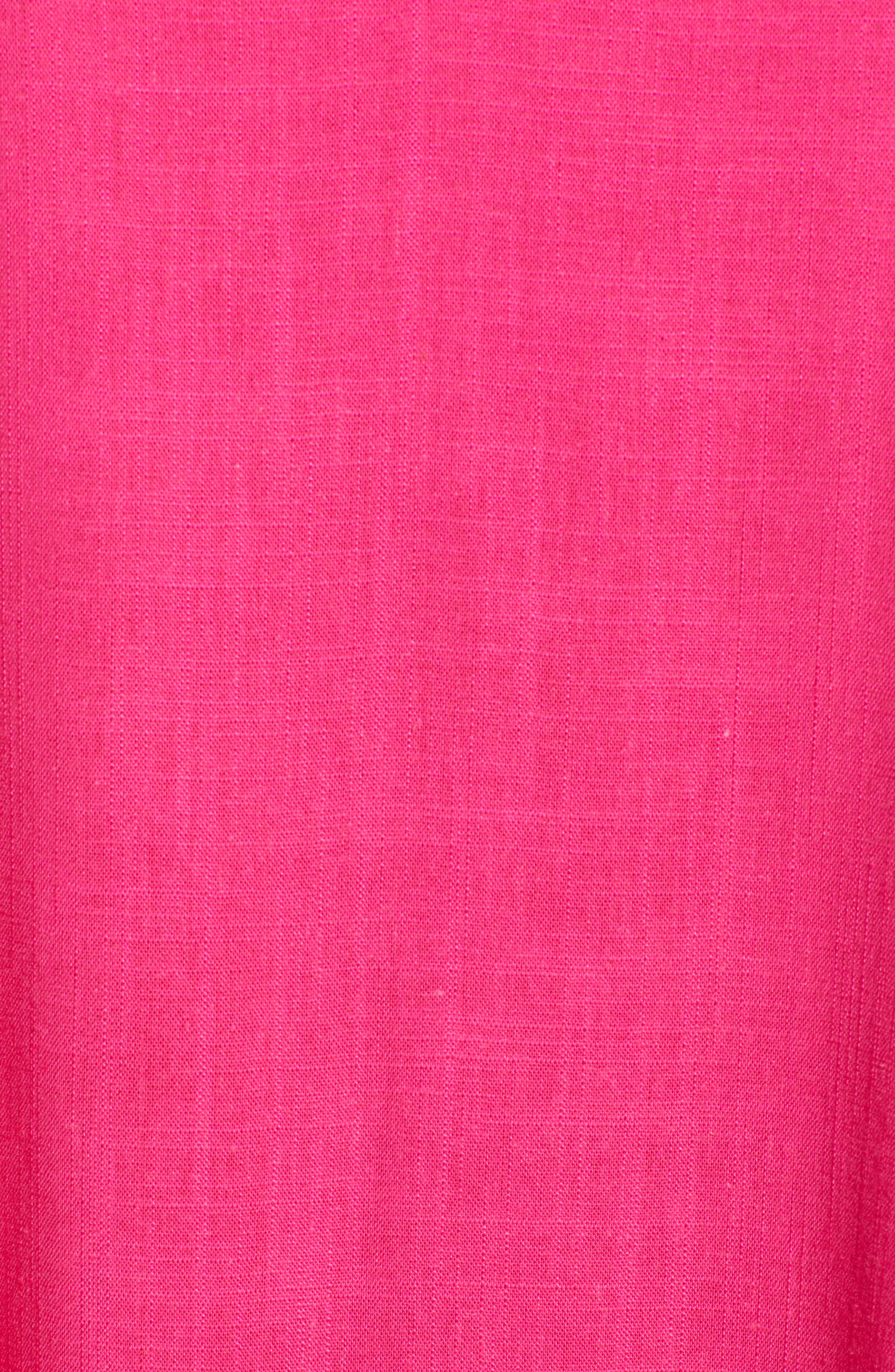 Trapeze Dress,                             Alternate thumbnail 7, color,                             Fuchsia