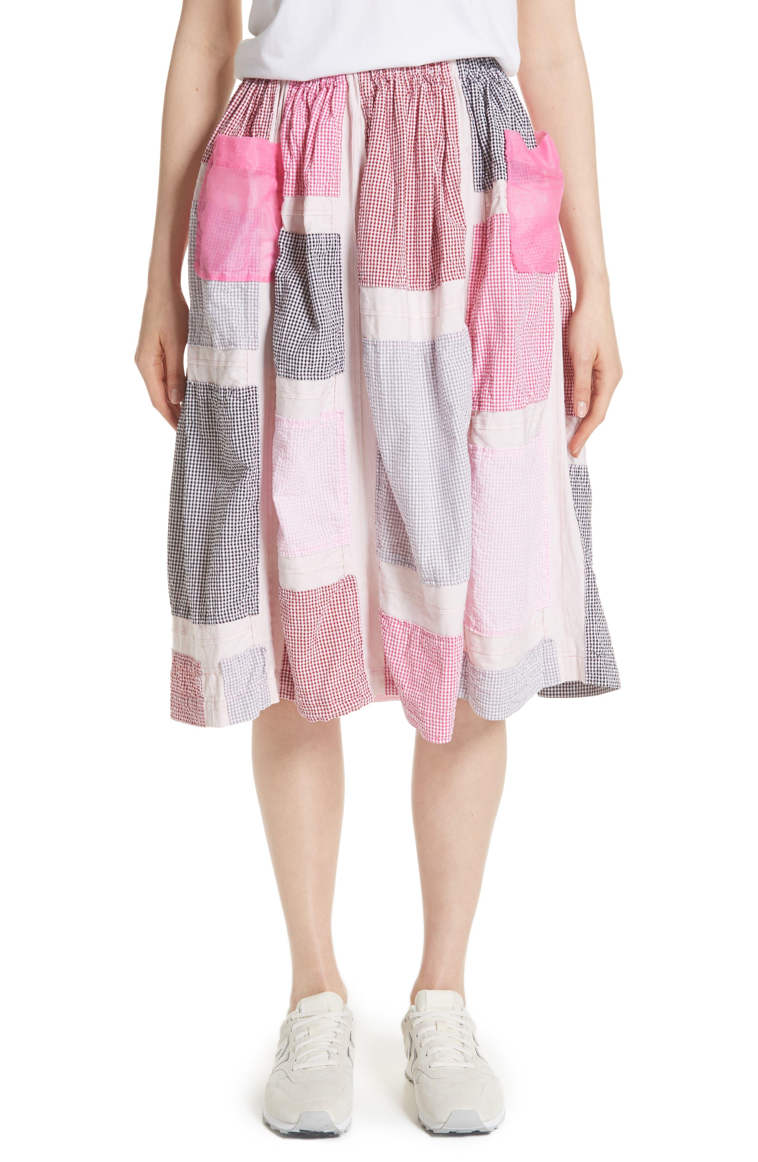 Tricot Comme des Garçons Patchwork Skirt