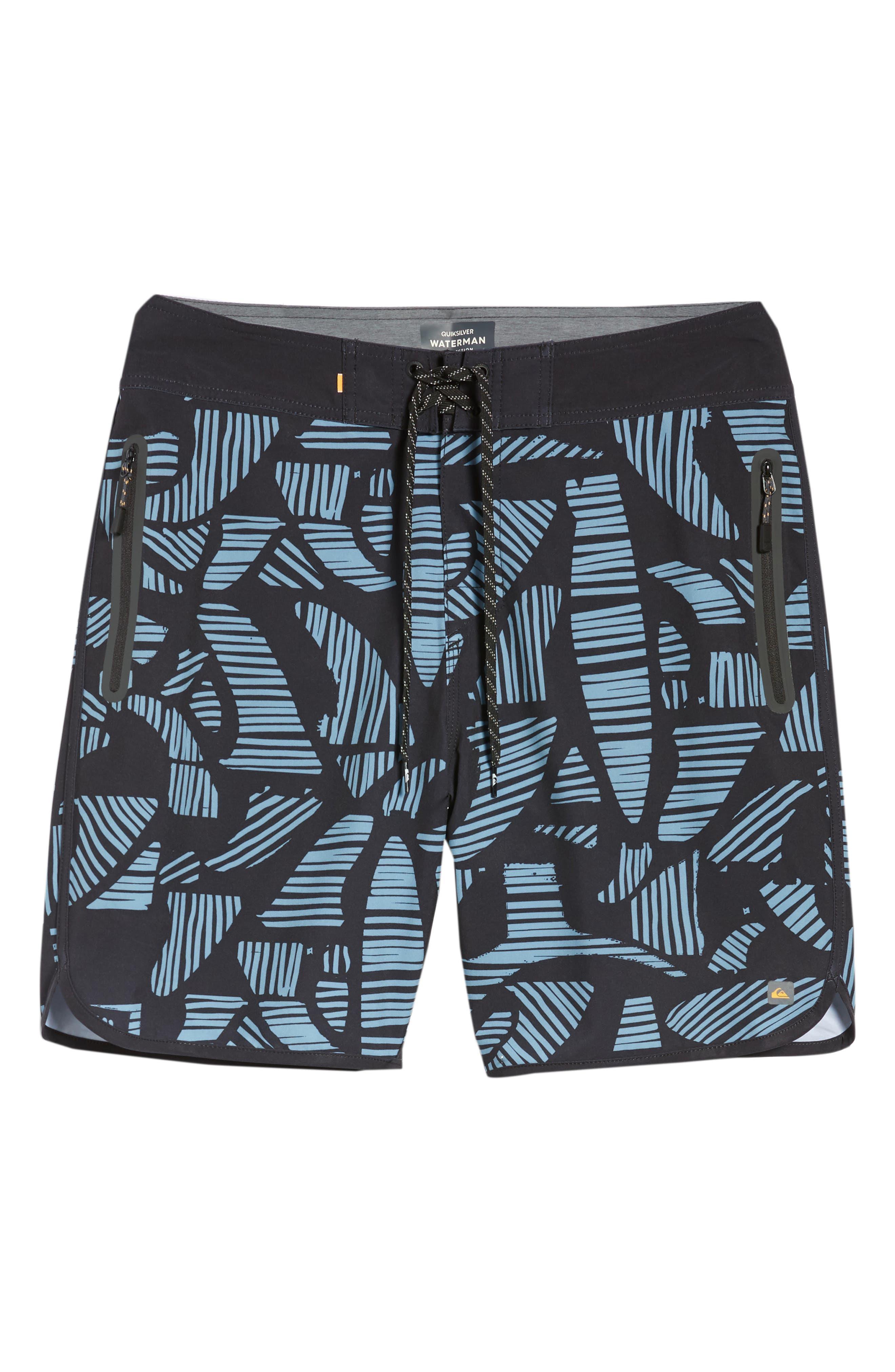Odysea Board Shorts,                             Alternate thumbnail 6, color,                             Black