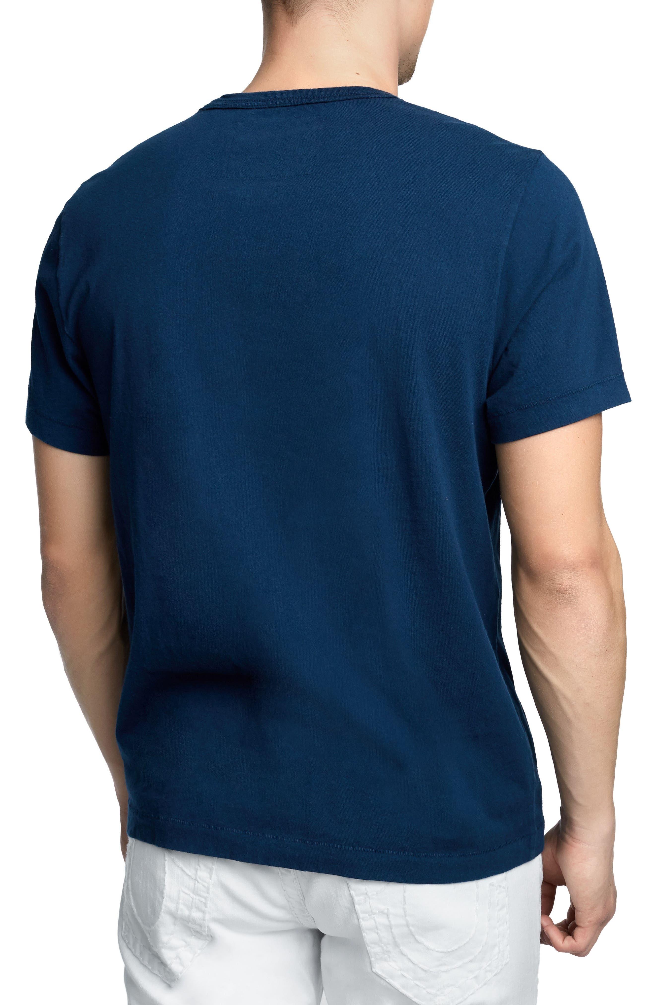 True Slogan T-Shirt,                             Alternate thumbnail 2, color,                             Ace Blue