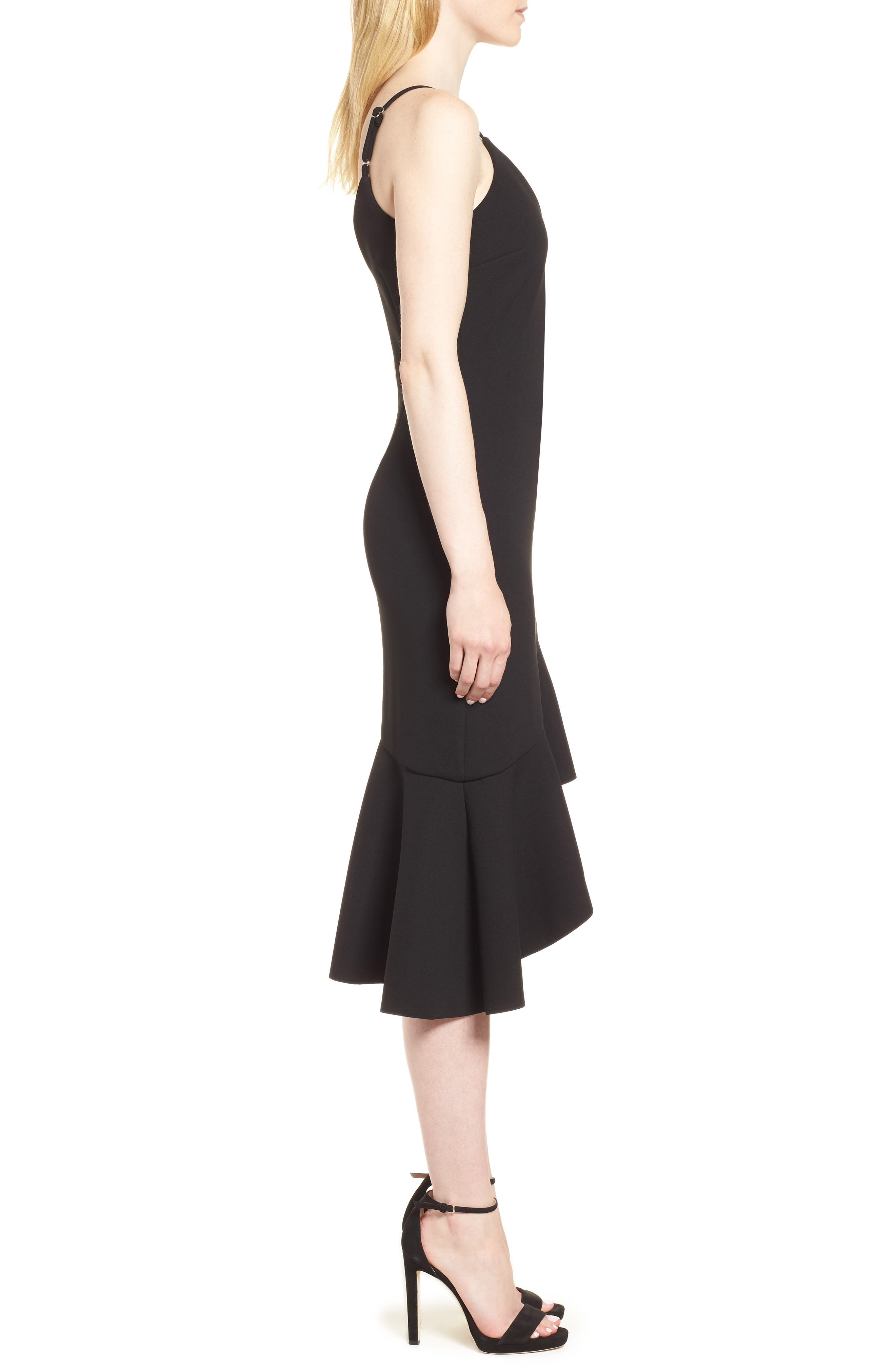 Artemis Dress,                             Alternate thumbnail 3, color,                             Black