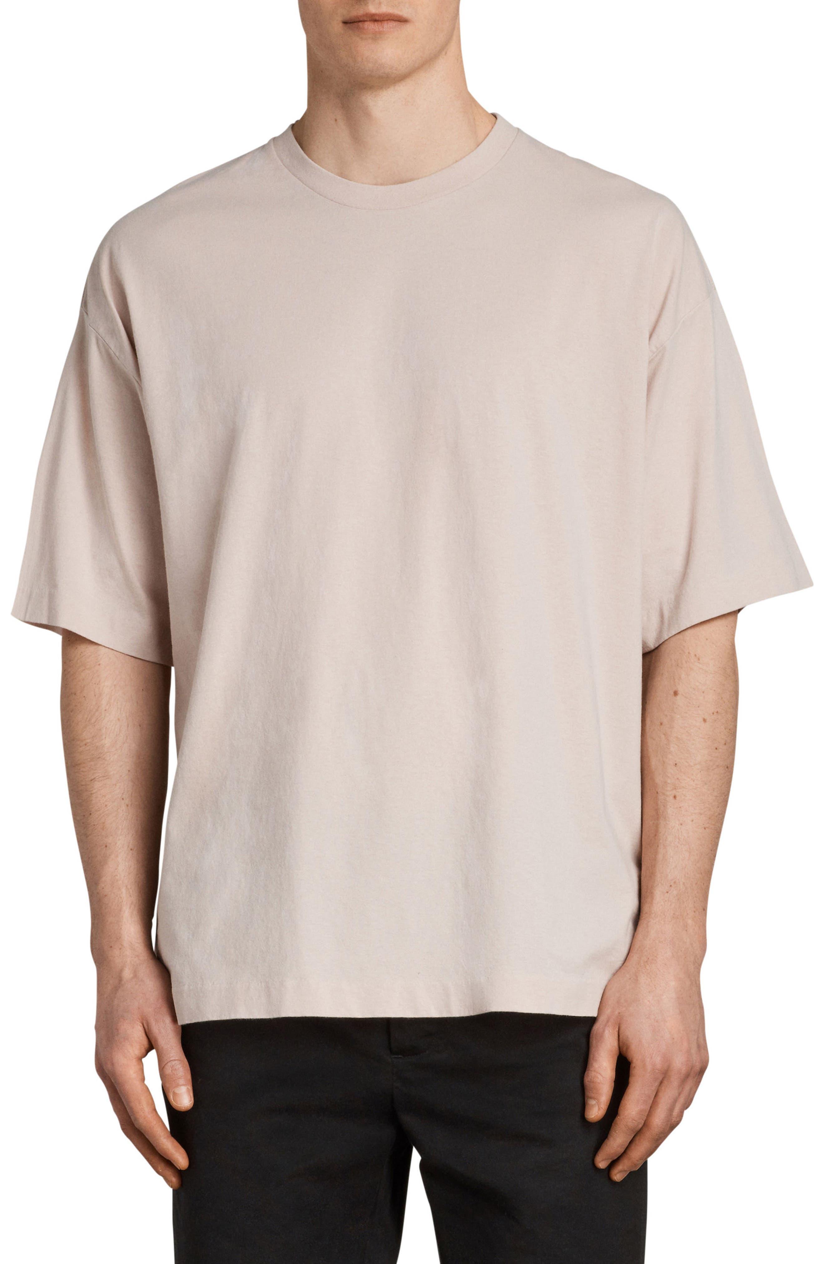 Atnom Crewneck T-Shirt,                         Main,                         color, River Pink