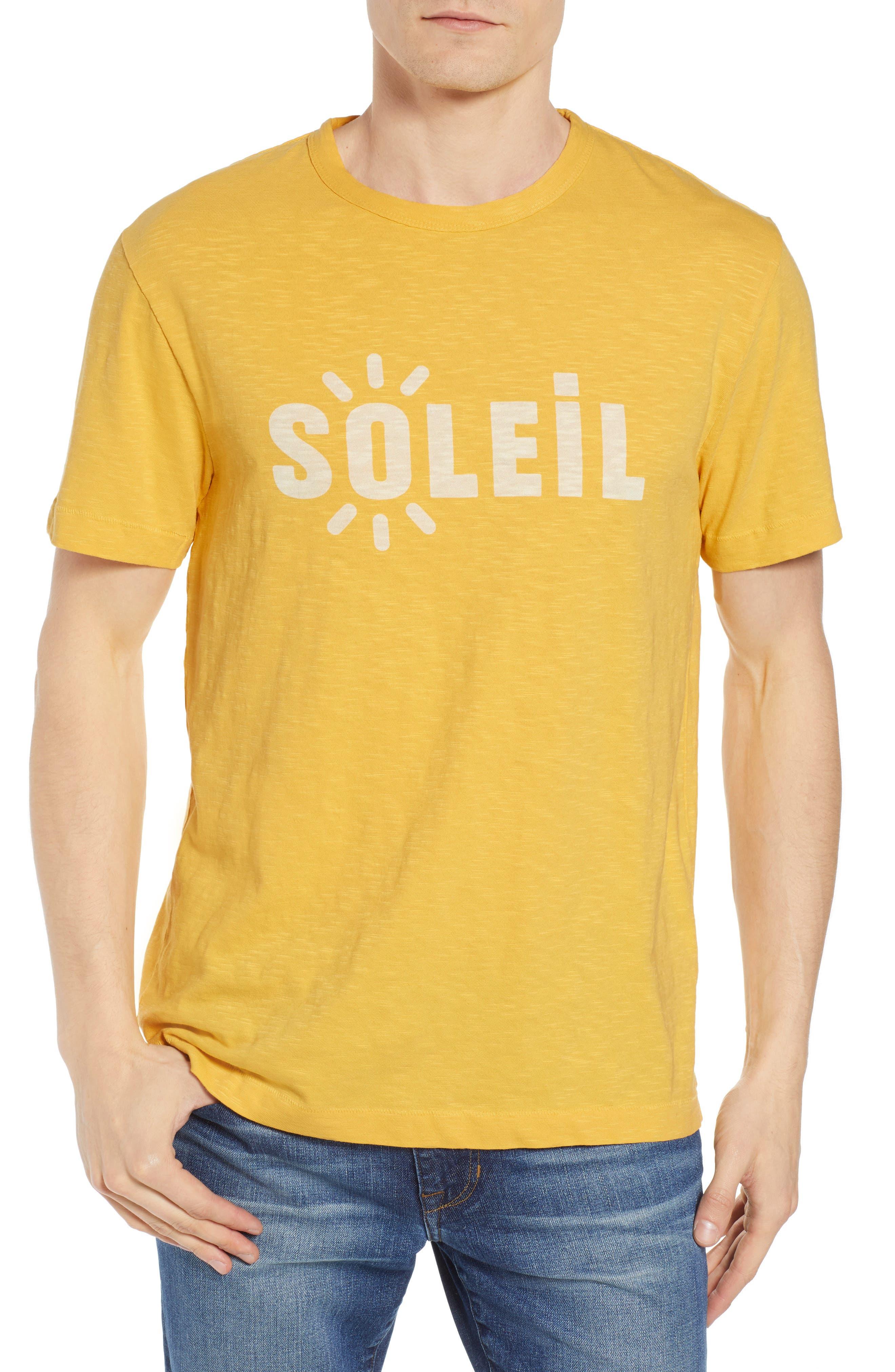 Soleil T-Shirt,                         Main,                         color, Banana