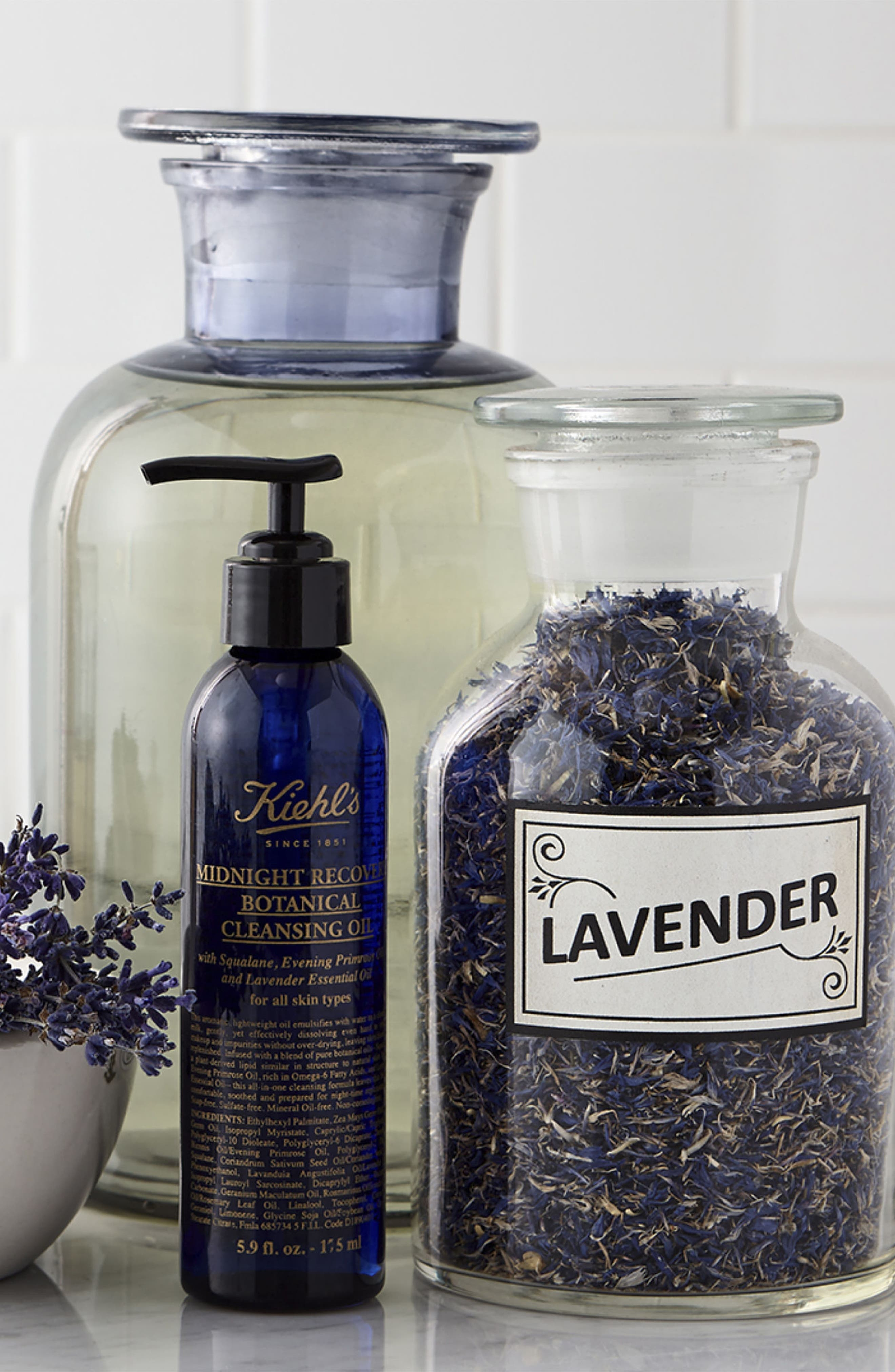 Midnight Recovery Botanical Cleansing Oil,                             Alternate thumbnail 2, color,                             No Color