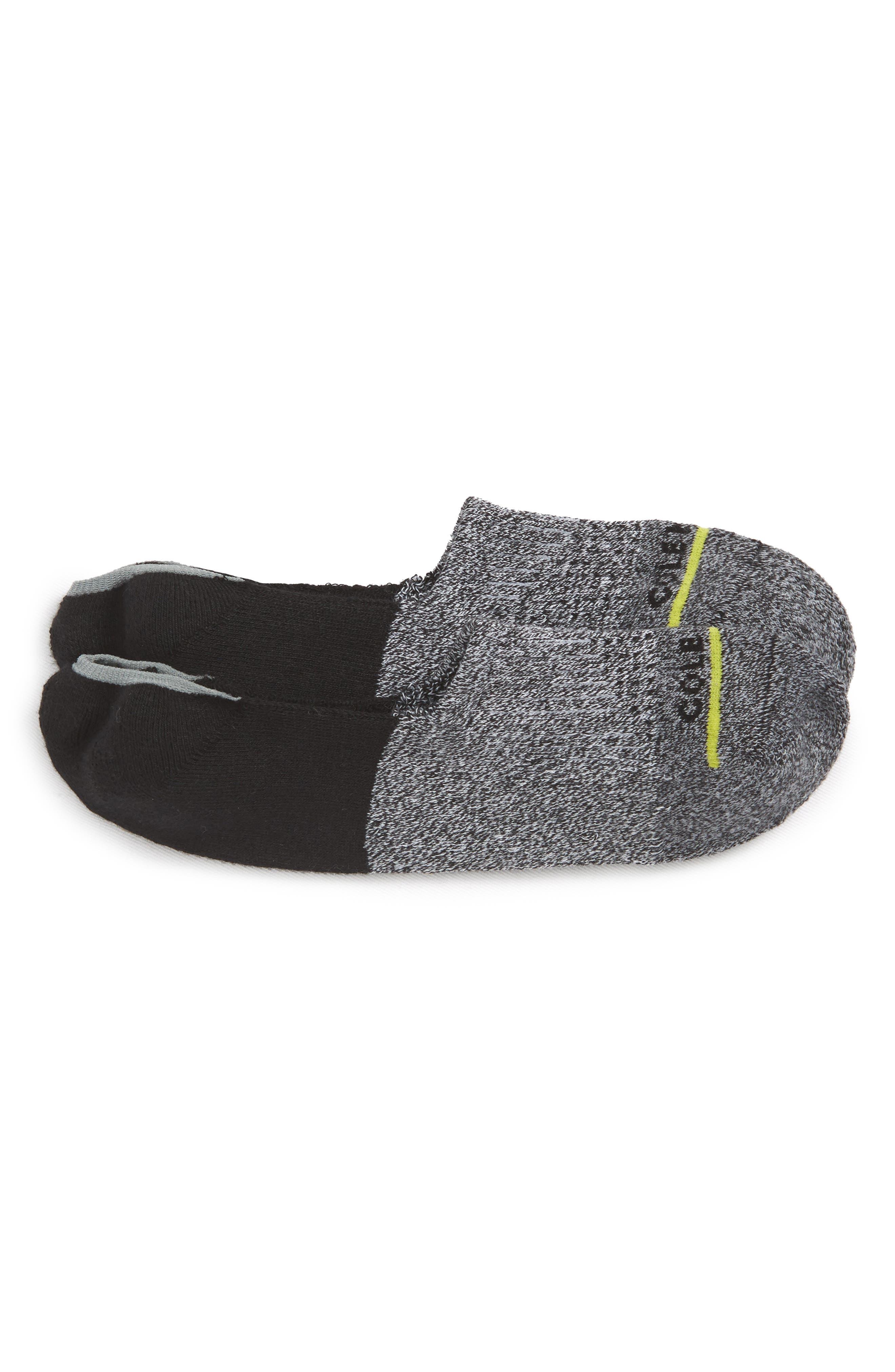 Cole Haan Twist Stripe No-Show Socks