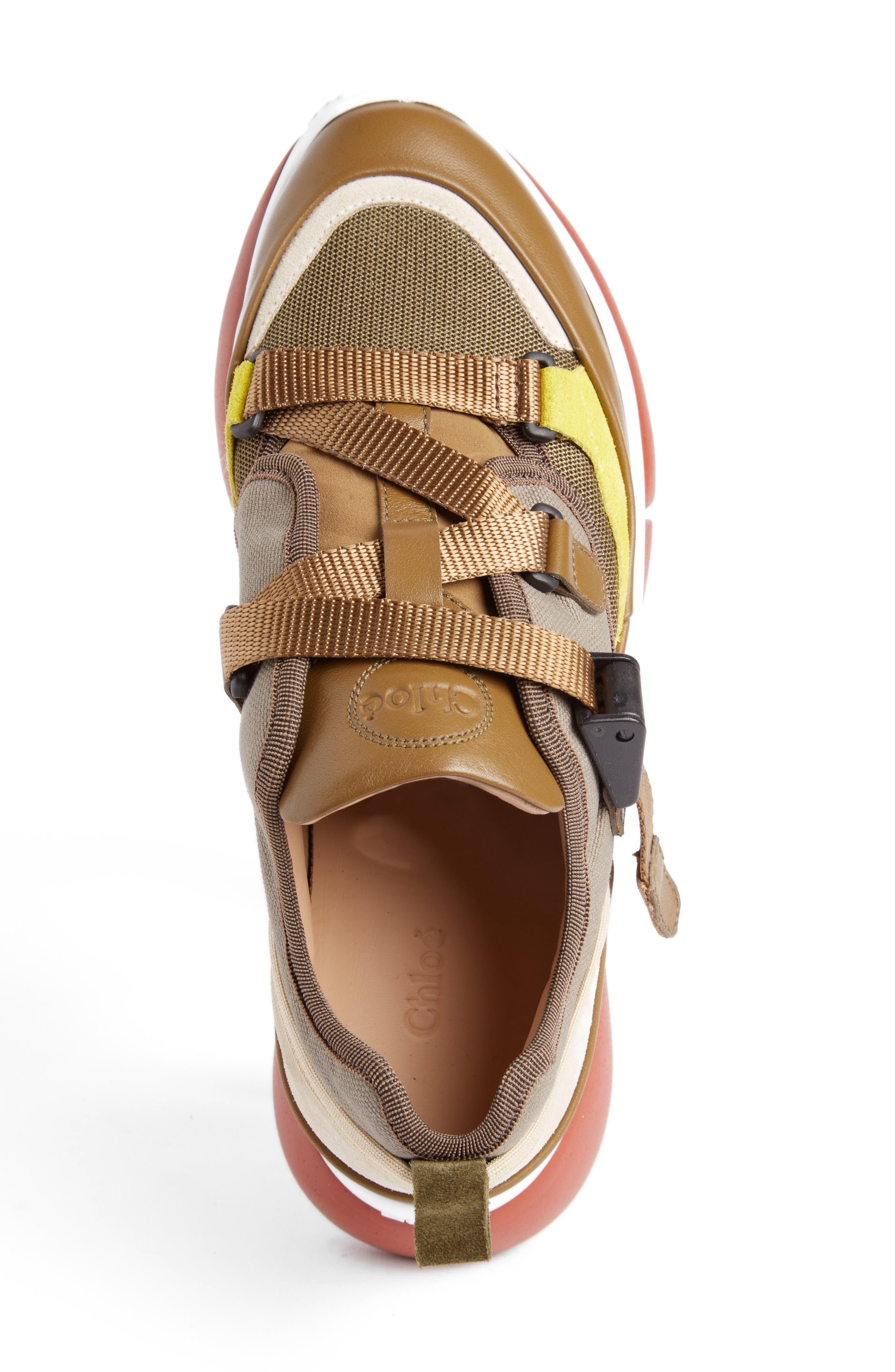 Sonnie Low Top Sneaker,                             Alternate thumbnail 3, color,                             Sooty Khaki