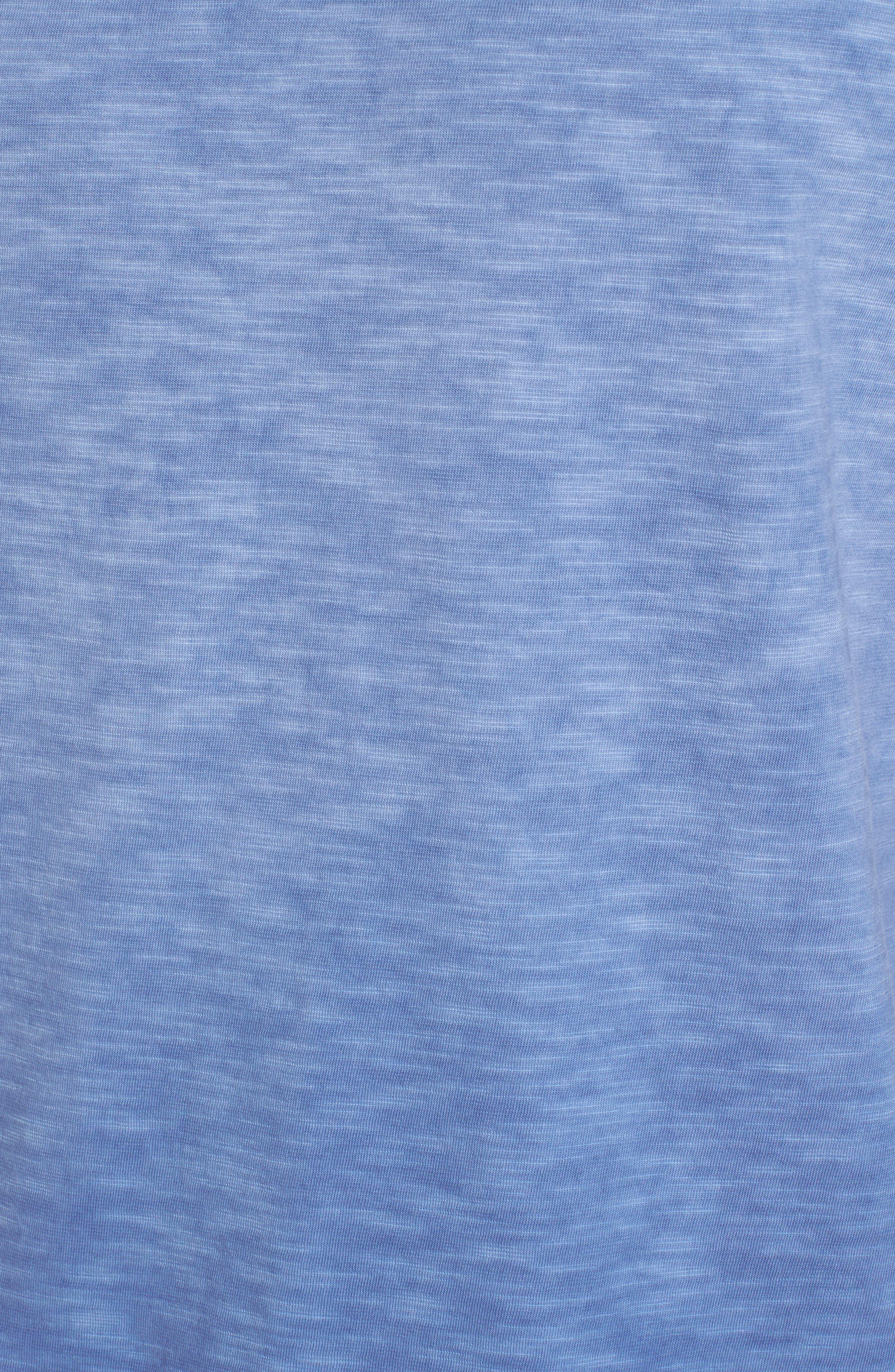 Suncoast Shores V-Neck T-Shirt,                             Alternate thumbnail 5, color,                             Dockside Blue