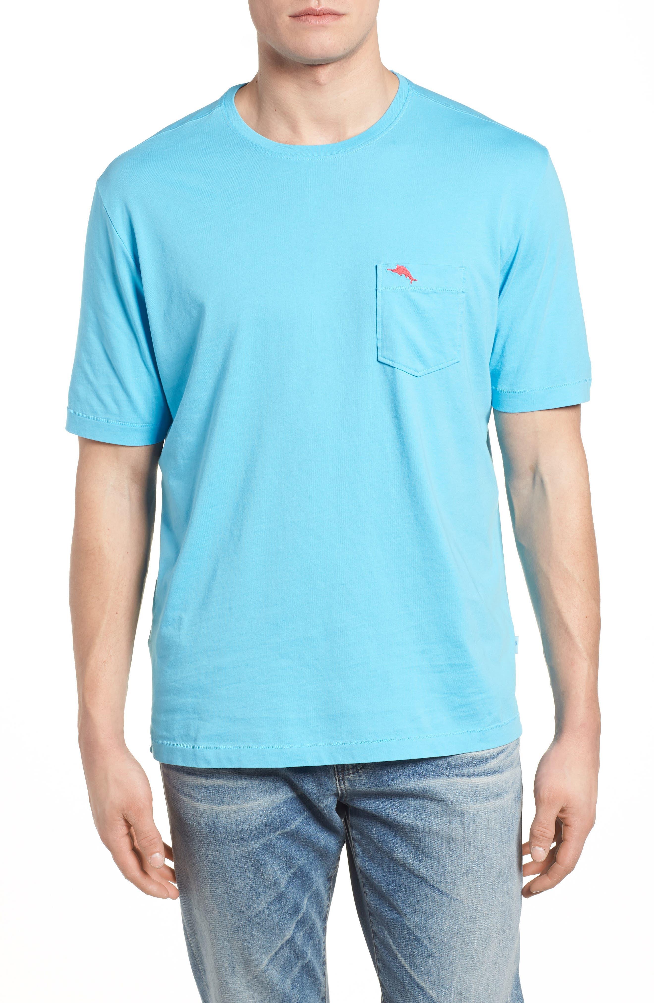 Bali Skyline T-Shirt,                             Main thumbnail 1, color,                             Breeze Blue