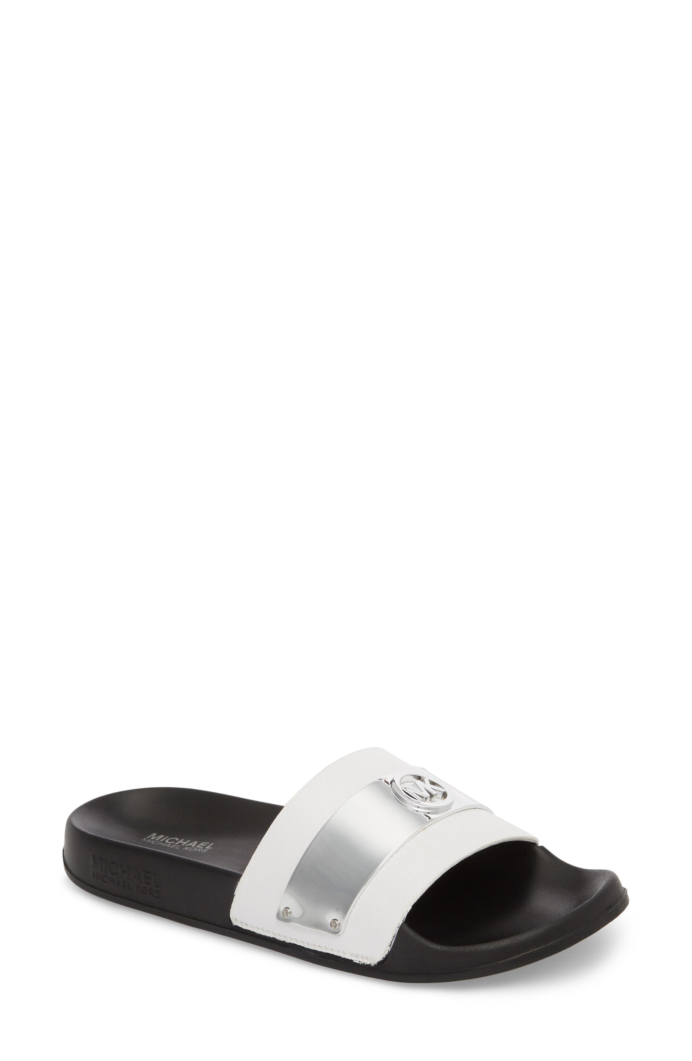 MICHAEL Michael Kors Jett Slide Sandal (Women)