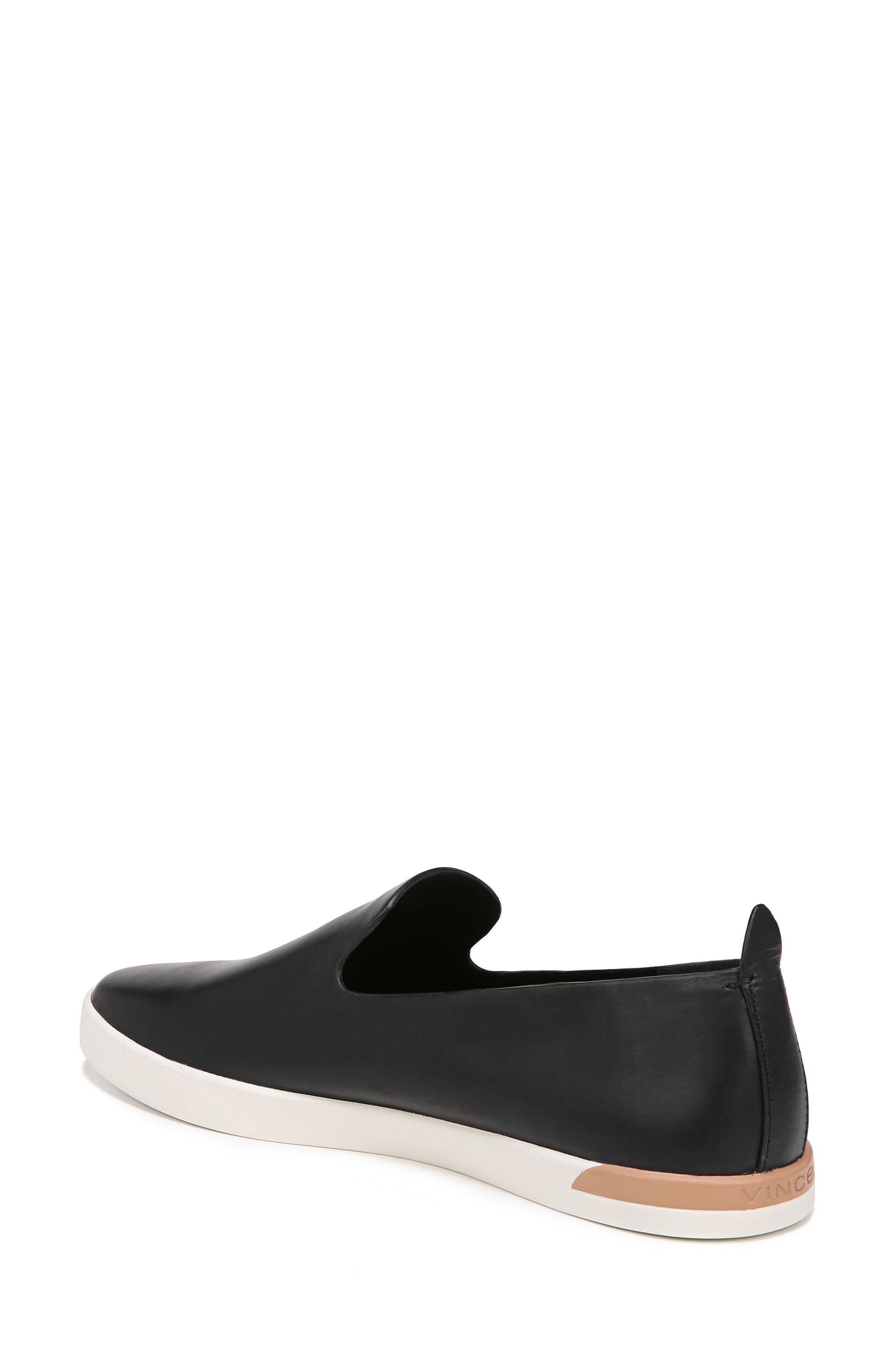 Vero Sneaker,                             Alternate thumbnail 2, color,                             Black Leather