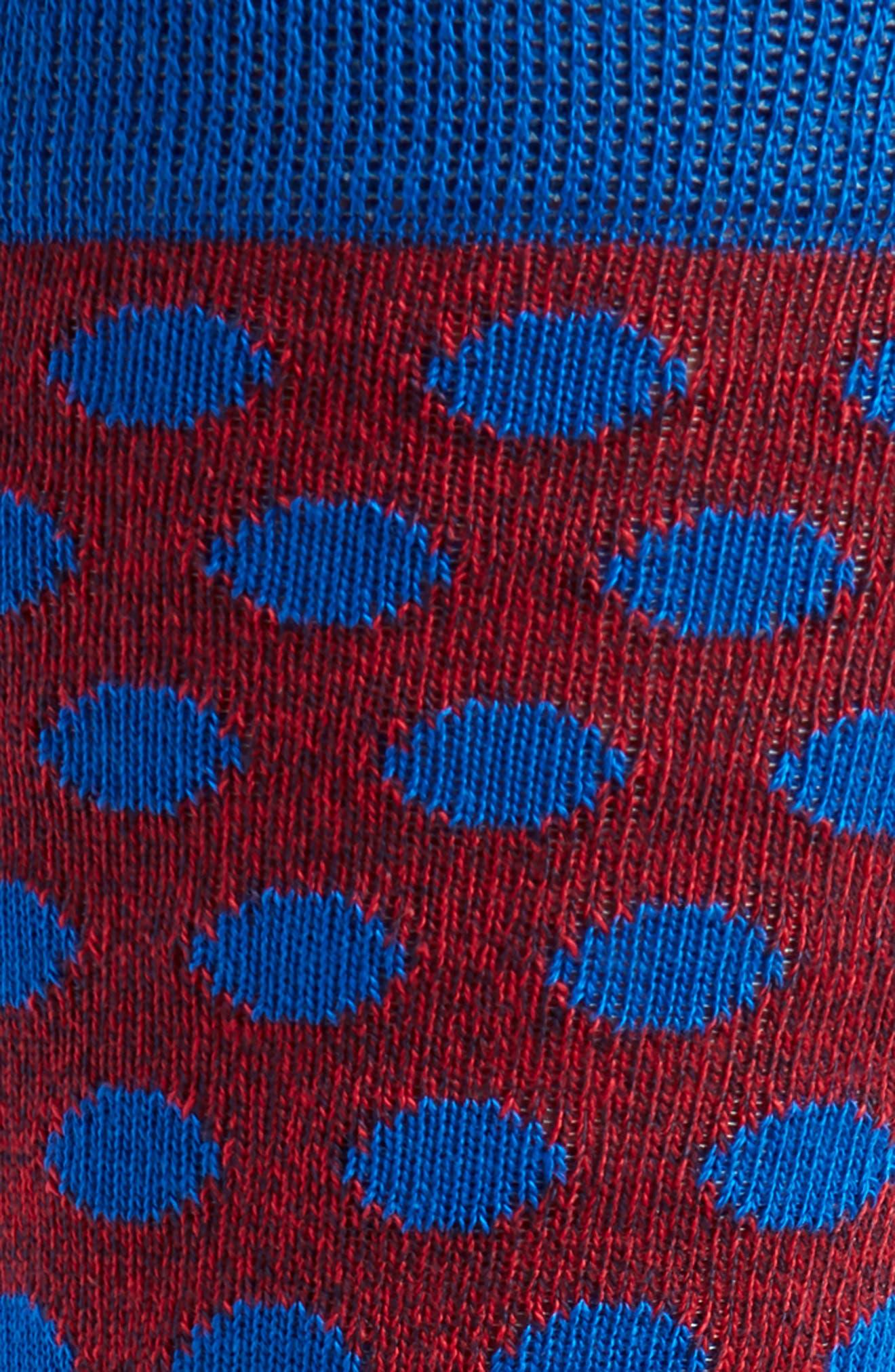 Spot Socks,                             Alternate thumbnail 2, color,                             Blue