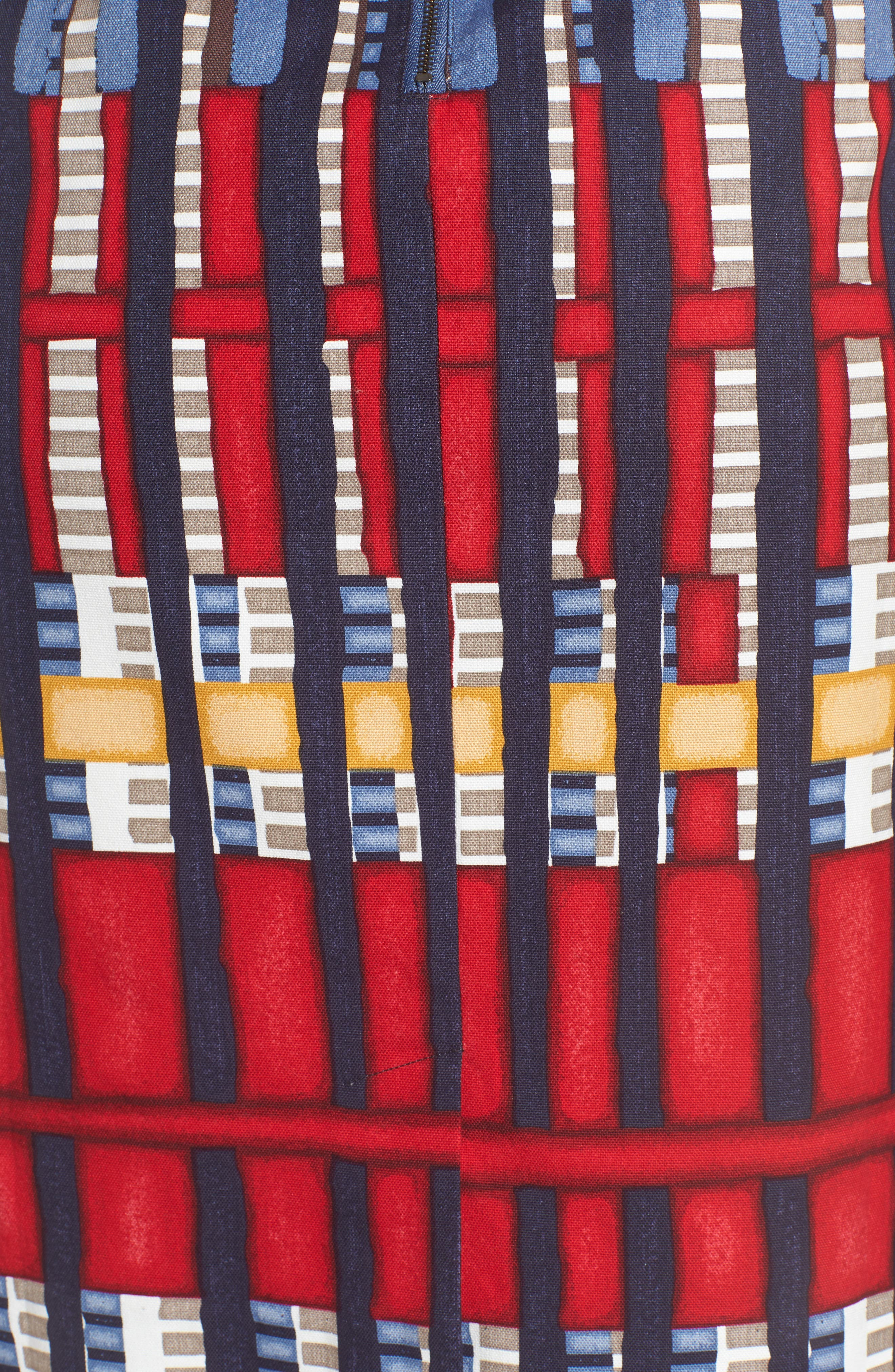 Santiago Hills Block Skirt,                             Alternate thumbnail 5, color,                             Multi