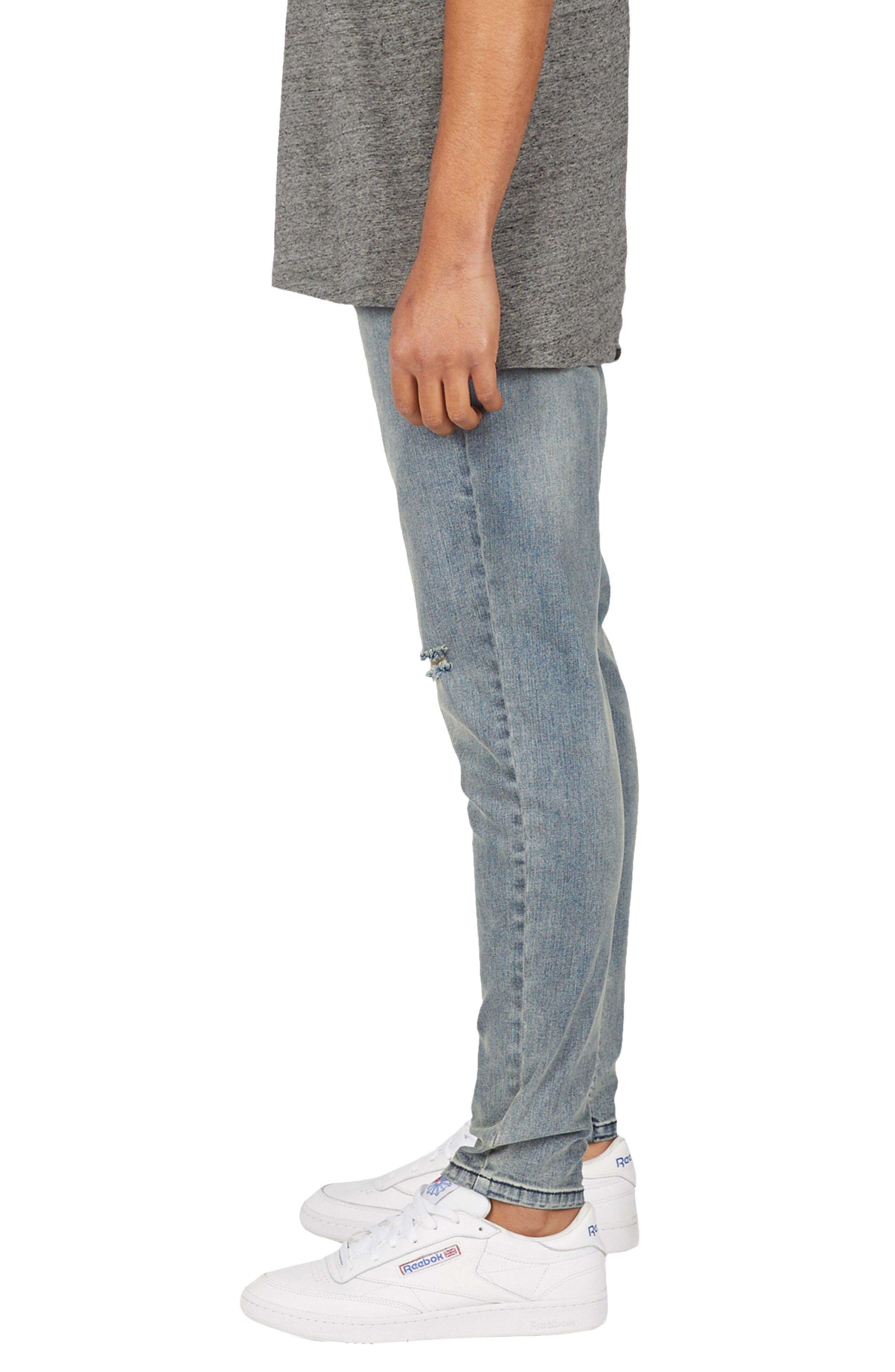 Sharpshot Slouchy Slim Fit Jeans,                             Alternate thumbnail 3, color,                             Double Indigo