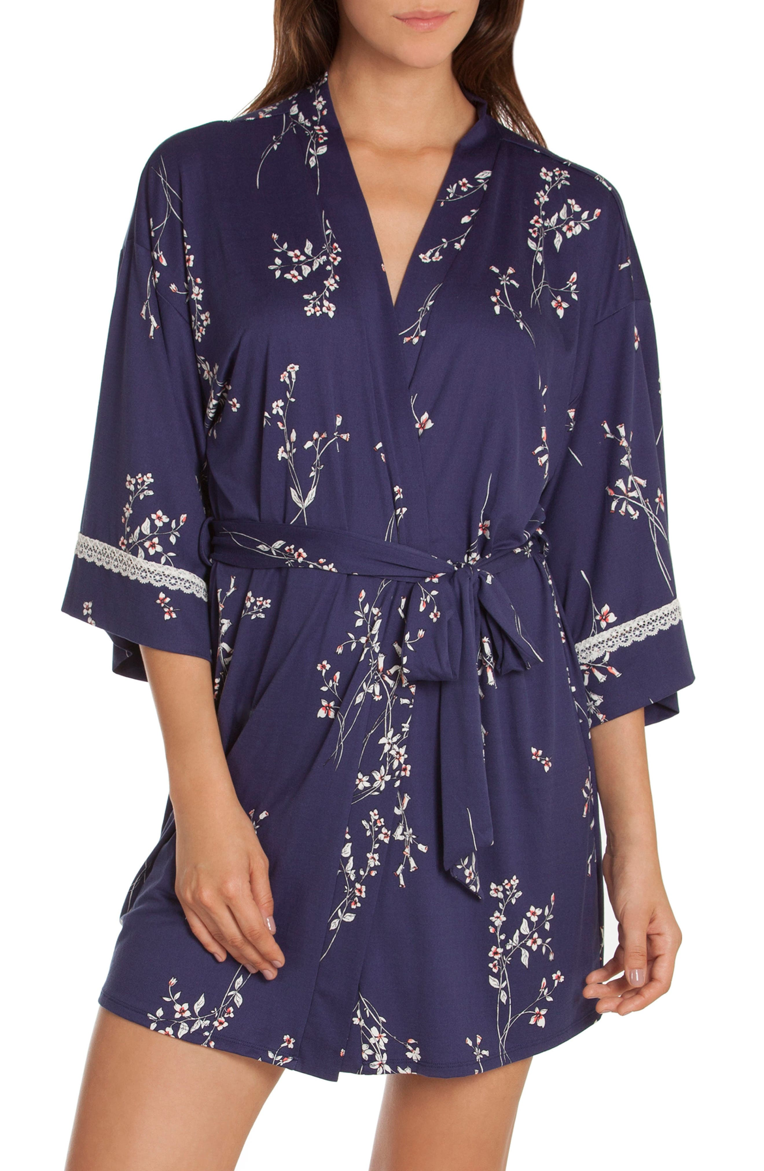 In Bloom by Jonquil Floral Print Robe