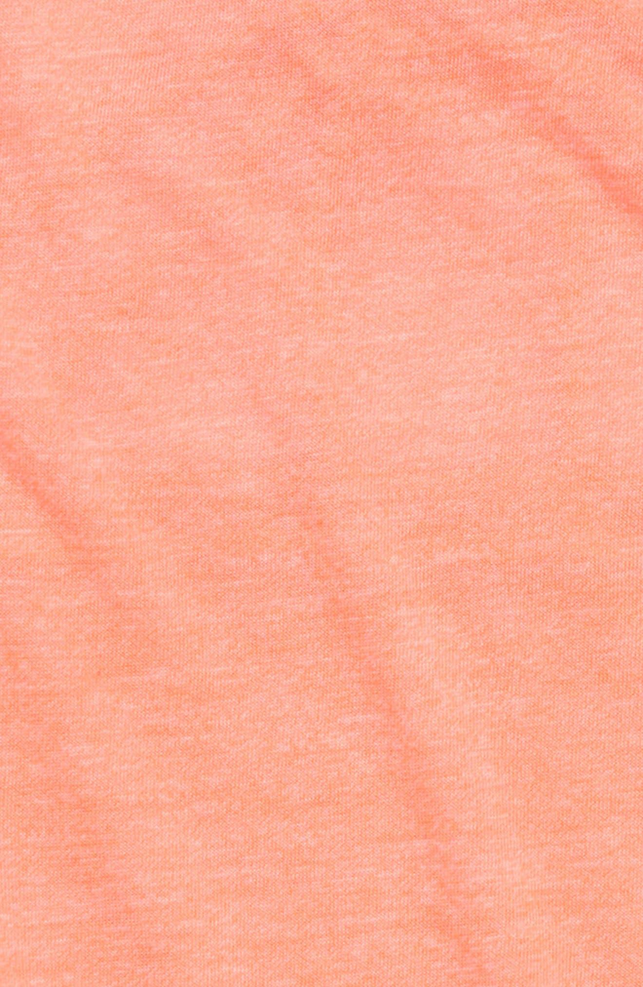 Macramé Back Tank,                             Alternate thumbnail 3, color,                             Coral Sunlight