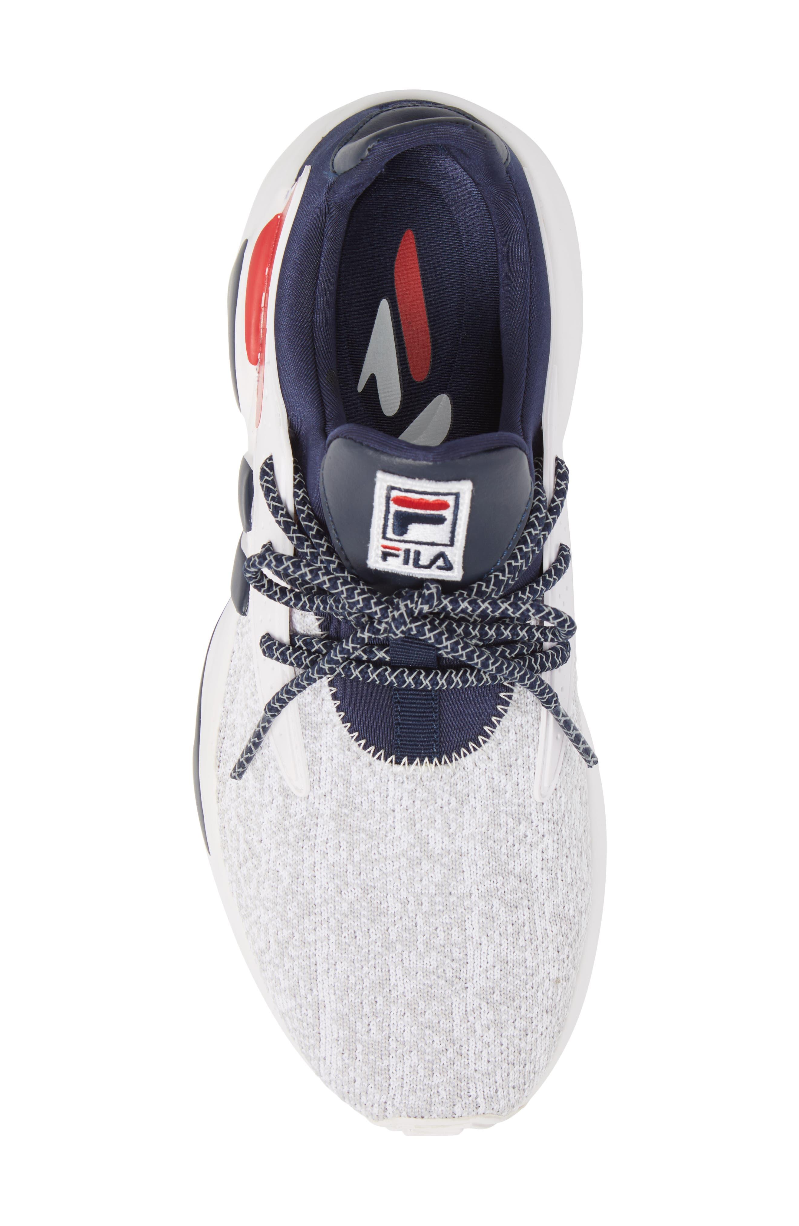 Mindbreaker 2.0 Sneaker,                             Alternate thumbnail 5, color,                             White/ Navy/ Red