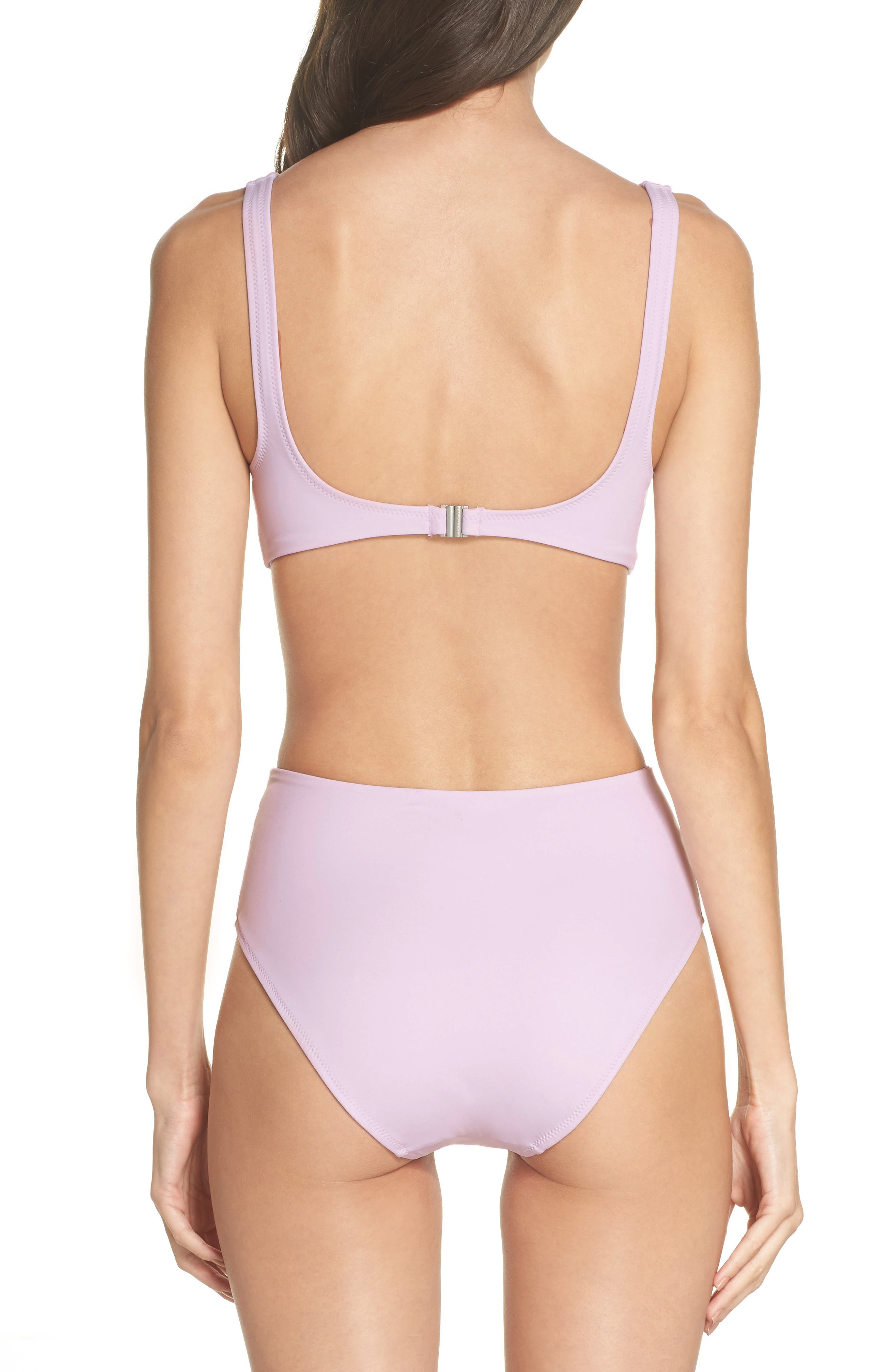 The Bailey One-Piece Swimsuit,                             Alternate thumbnail 2, color,                             Purple