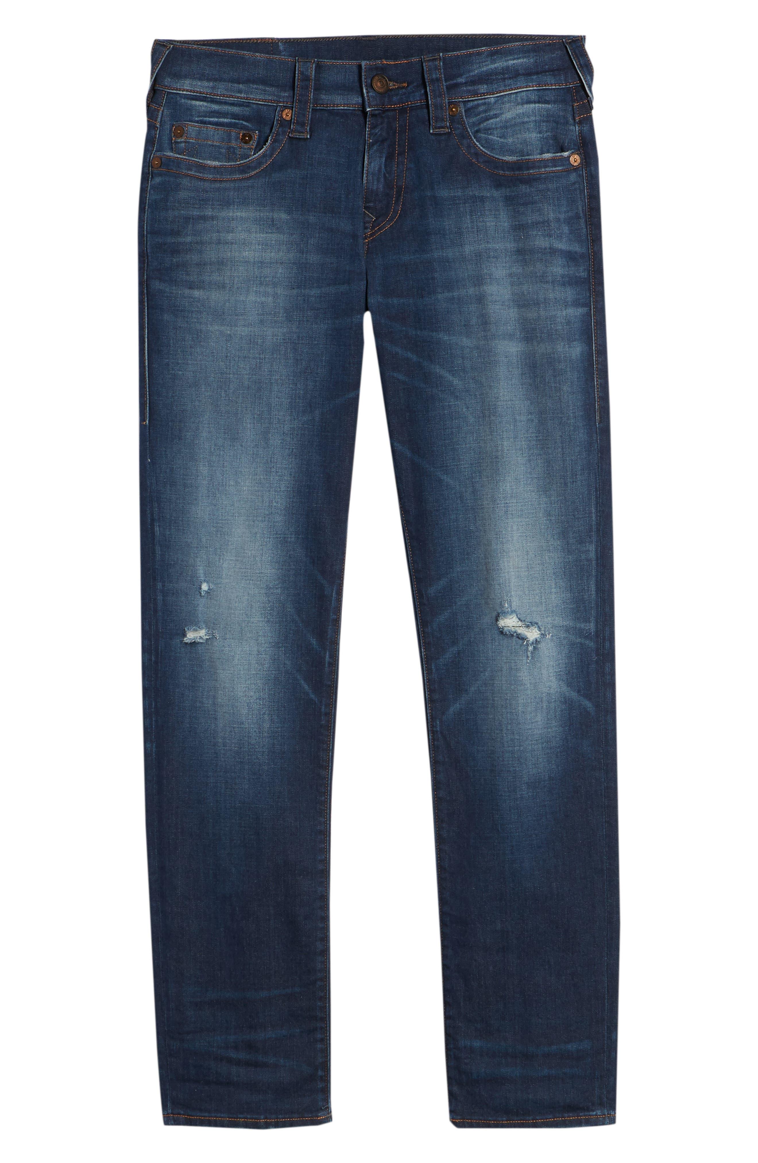 Geno Straight Leg Jeans,                             Alternate thumbnail 6, color,                             Suspect