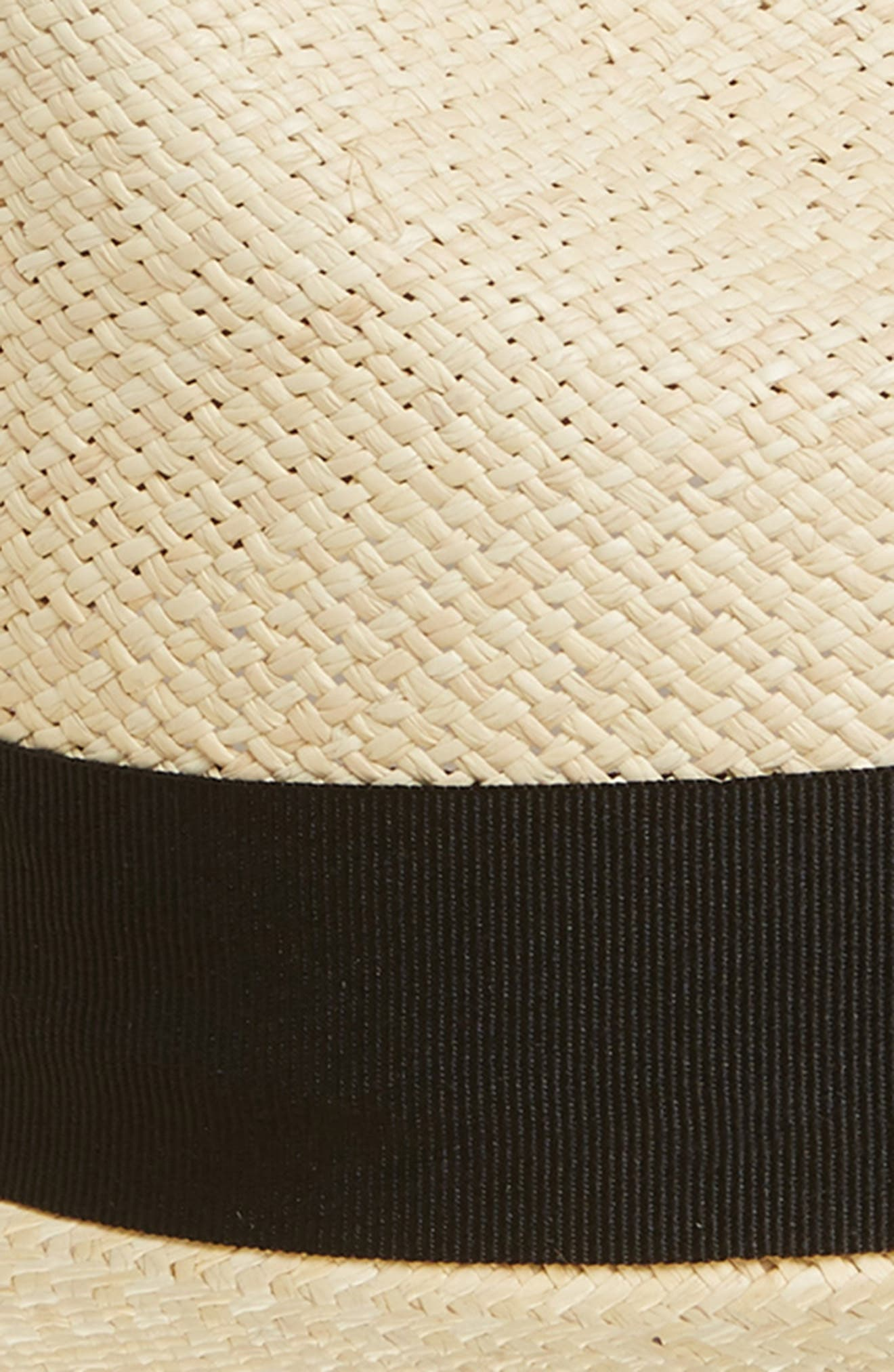 Puerto Lopez Straw Fedora,                             Alternate thumbnail 2, color,                             Natural
