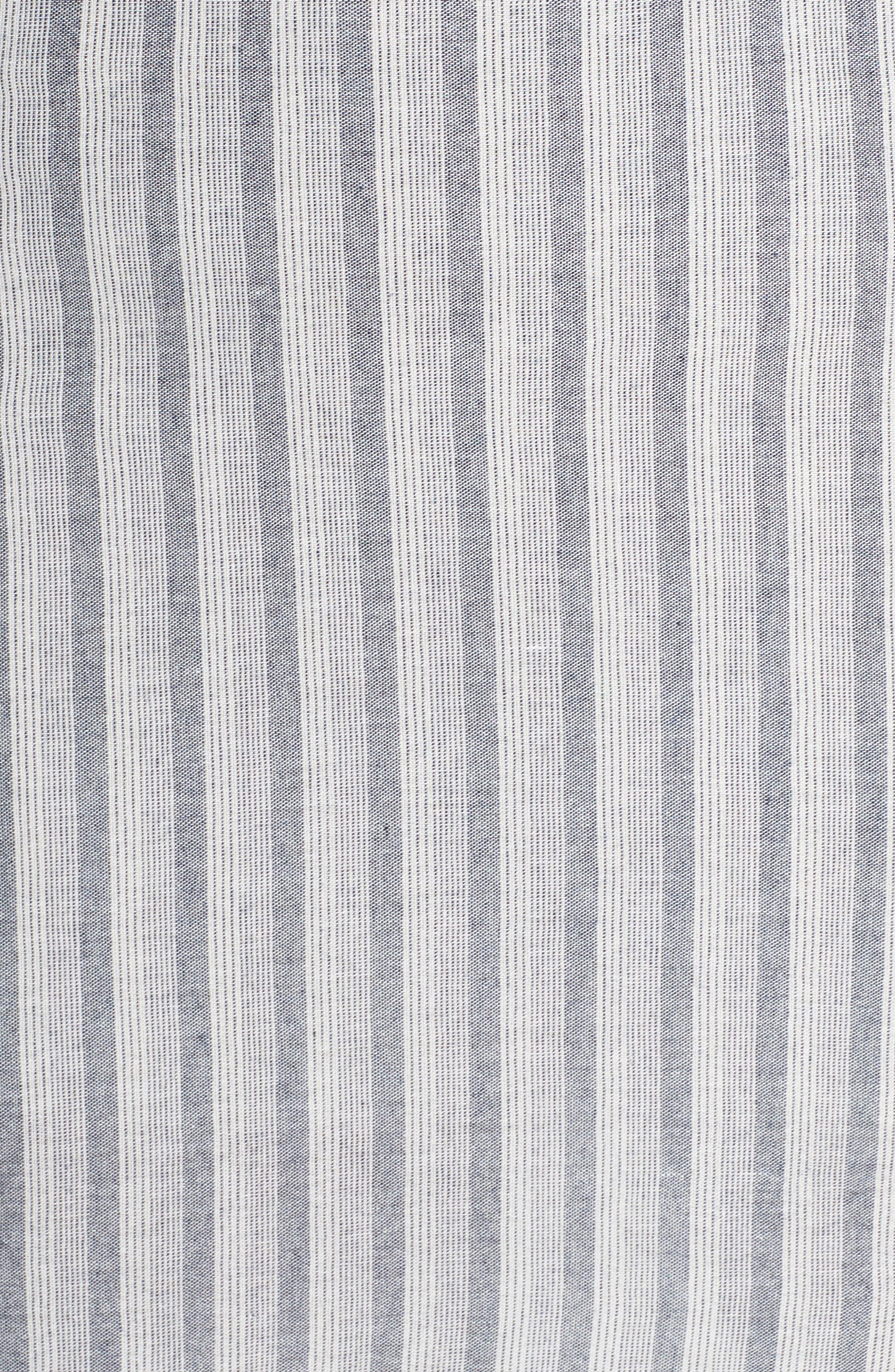 Krisa Stripe Maxi Dress,                             Alternate thumbnail 6, color,                             Multi
