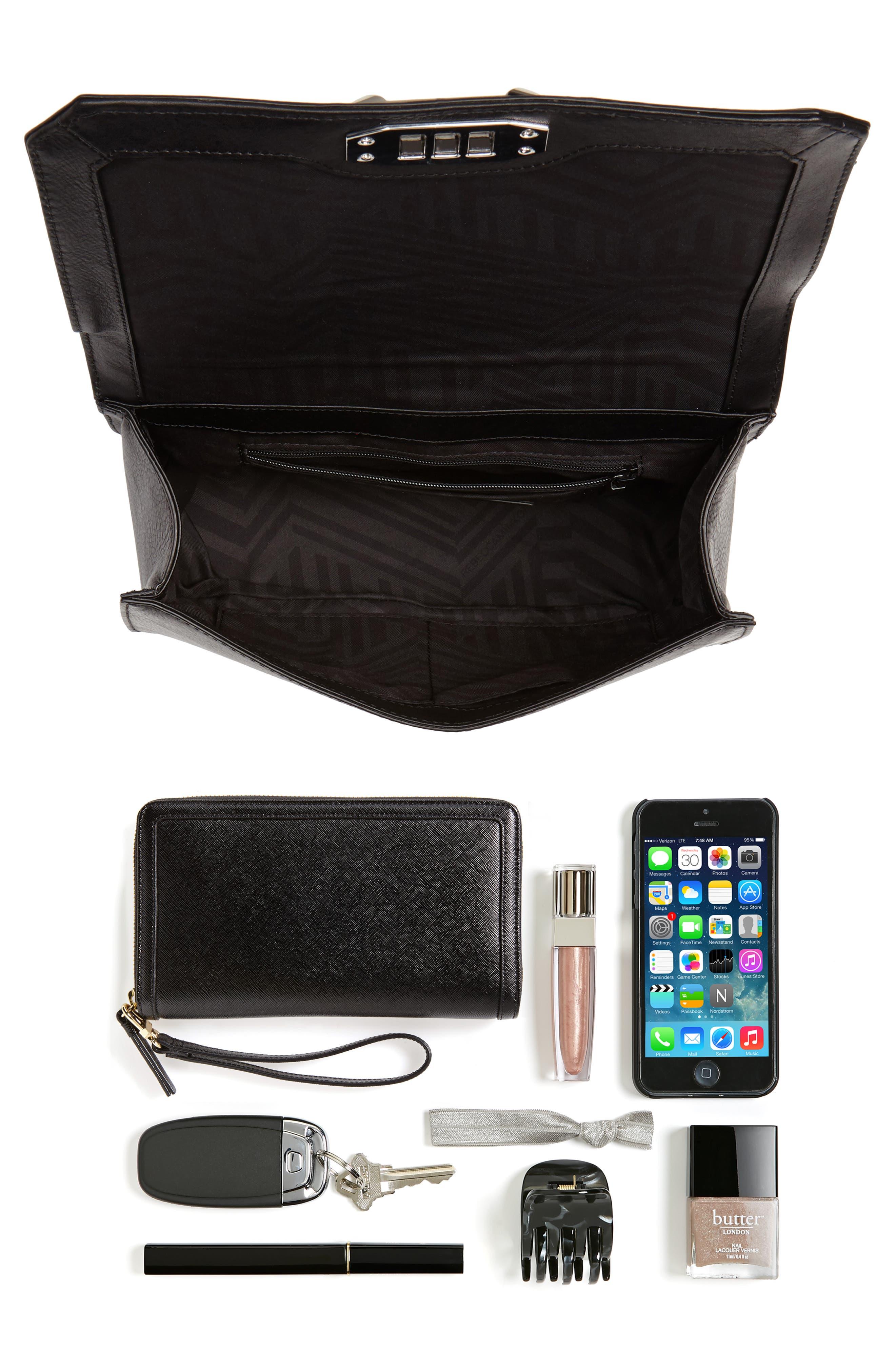 Love Leather Crossbody Bag,                             Alternate thumbnail 2, color,