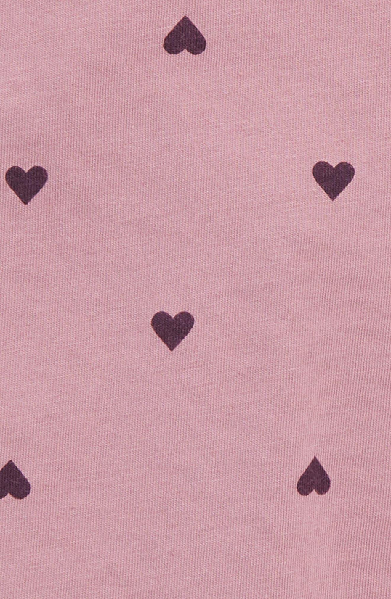 Flutter Sleeve Dress,                             Alternate thumbnail 3, color,                             Iris