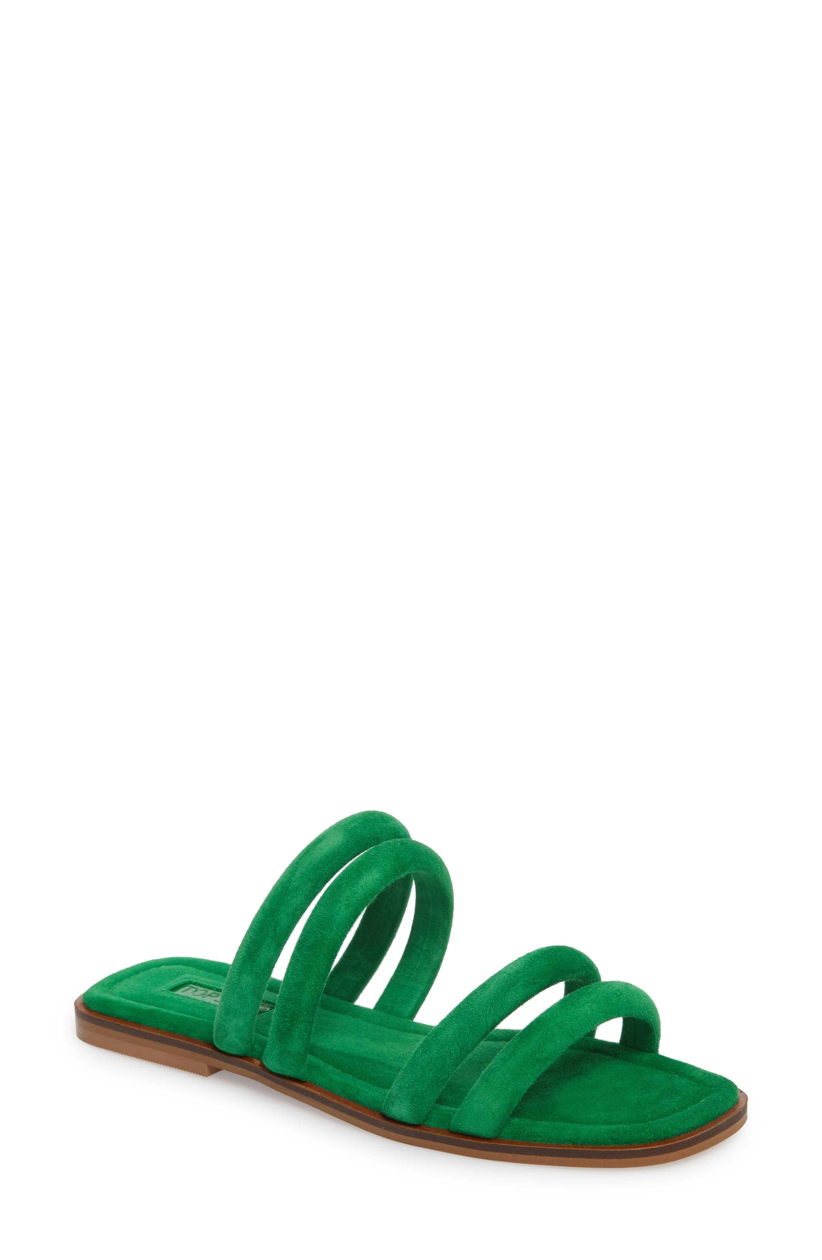 Topshop Fever Strappy Sandal (Women). BLACK; GREEN; YELLOW