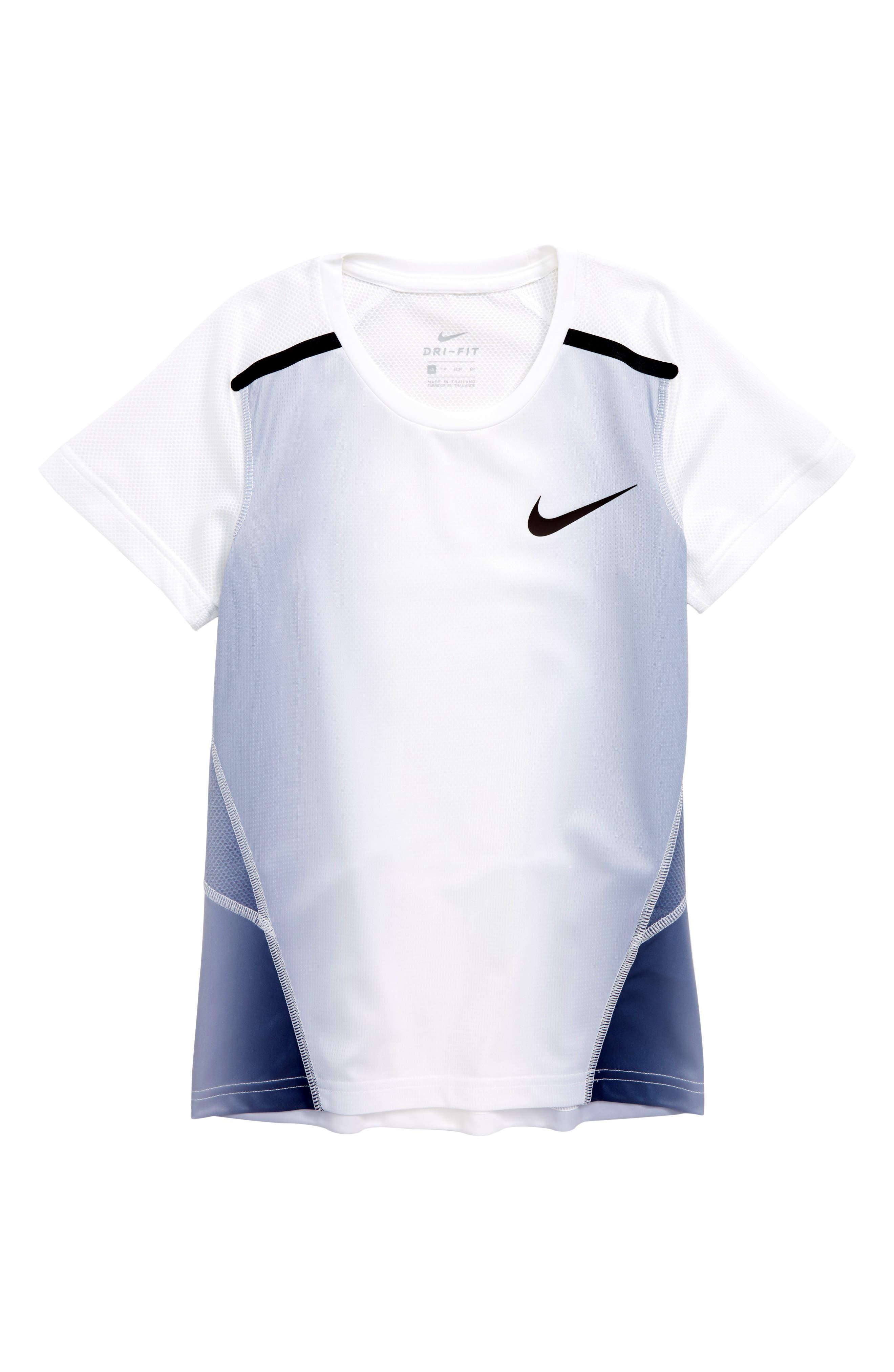 Breathe Dry Insta Air Shirt,                         Main,                         color, Thunder Blue