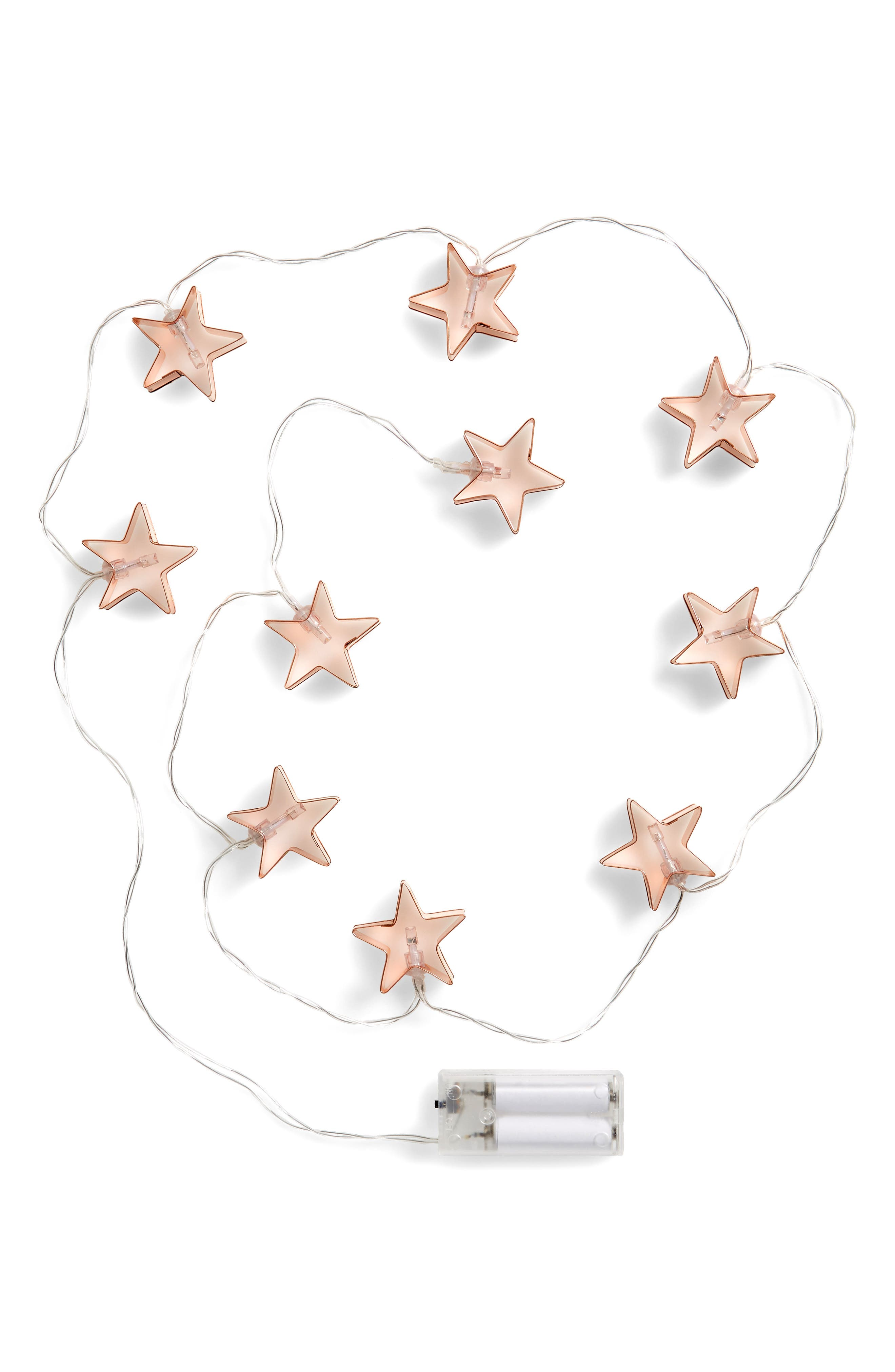 Capelli New York Decorative Star String Lights