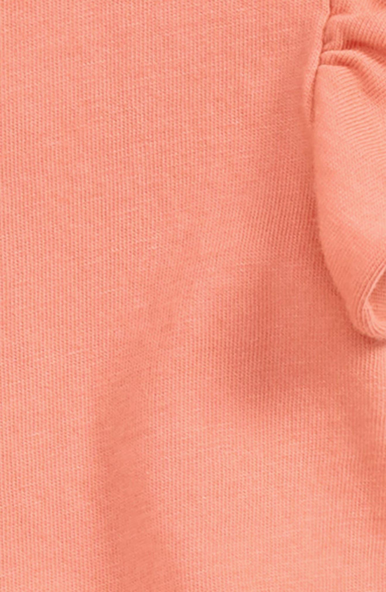 Print Top & Skirted Leggings Set,                             Alternate thumbnail 2, color,                             Bermuda Pink