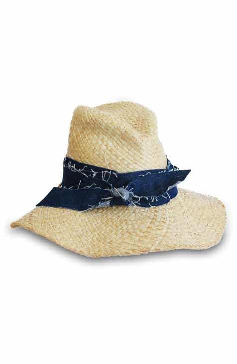 bf14b9058c6 Lola Hats First Aid Denim Band Straw Hat
