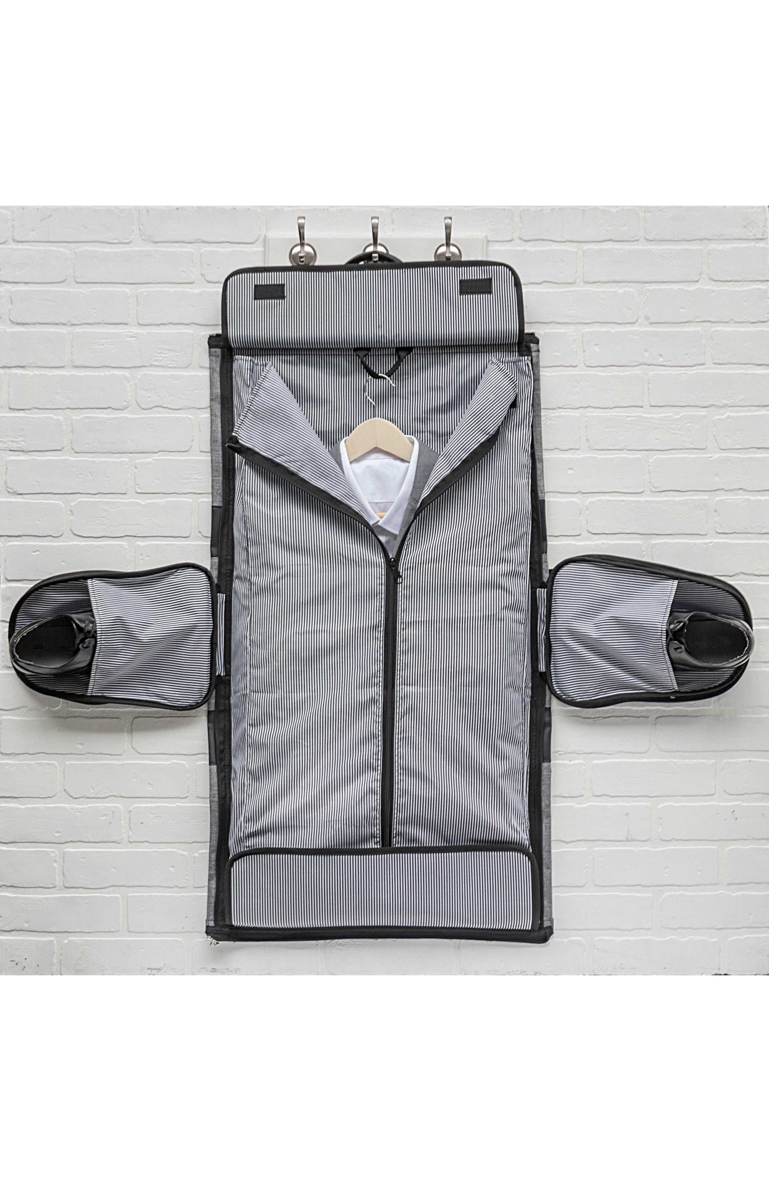 Monogram Duffel/Garment Bag,                             Alternate thumbnail 4, color,