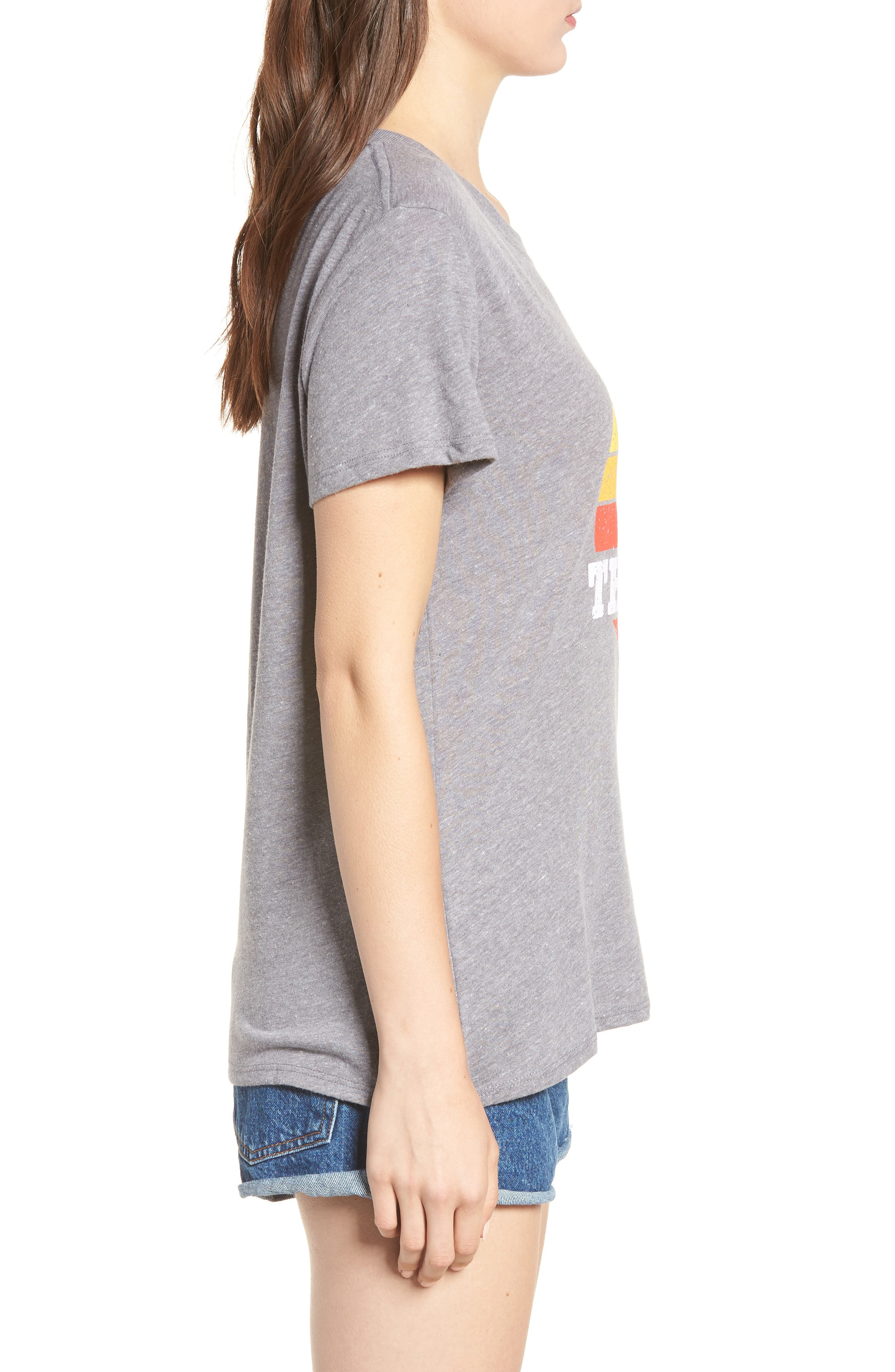 Thirsty Graphic Tee,                             Alternate thumbnail 3, color,                             Grey