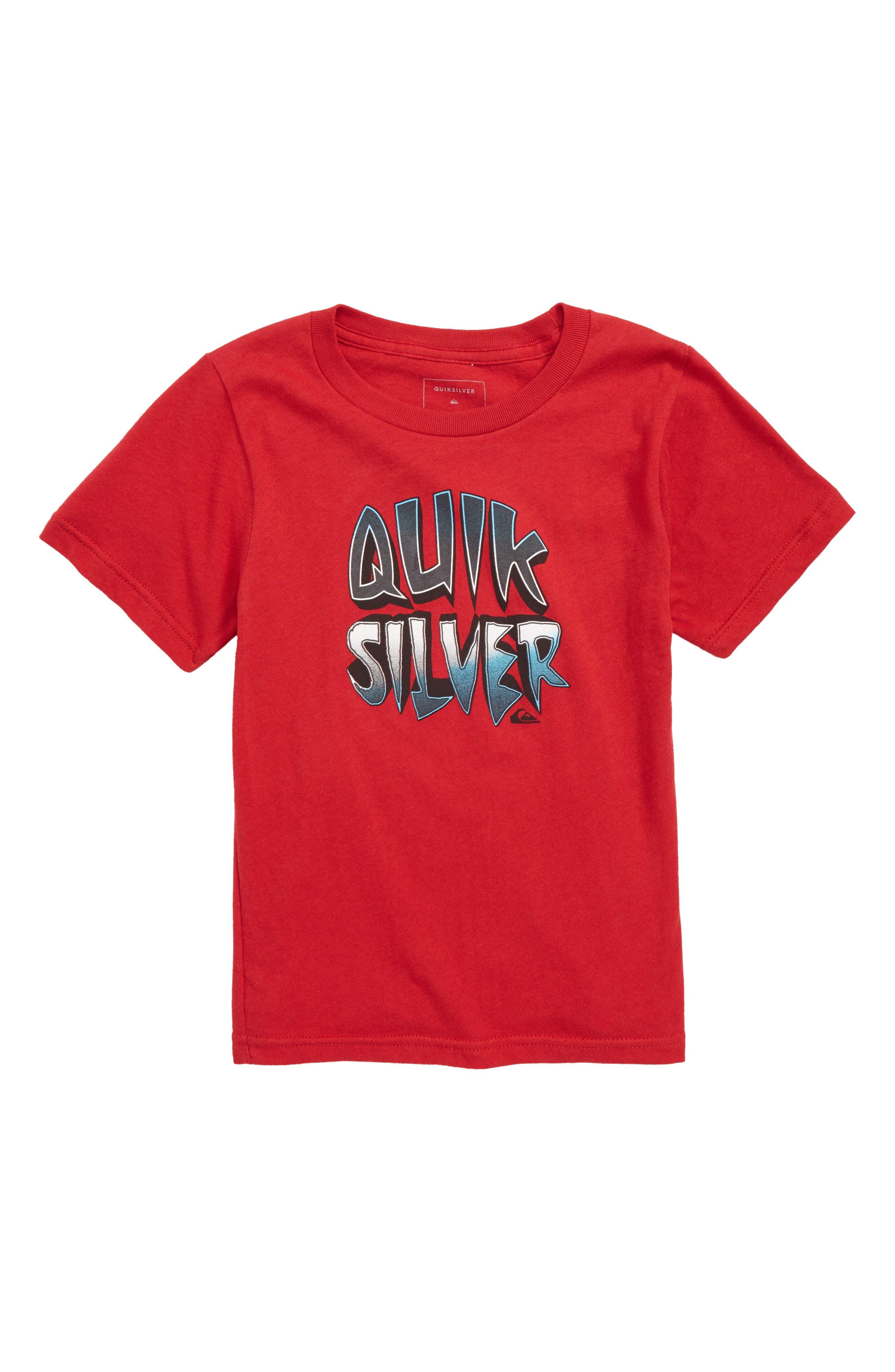 Capt Cavern Graphic T-Shirt,                             Main thumbnail 1, color,                             Chili Pepper