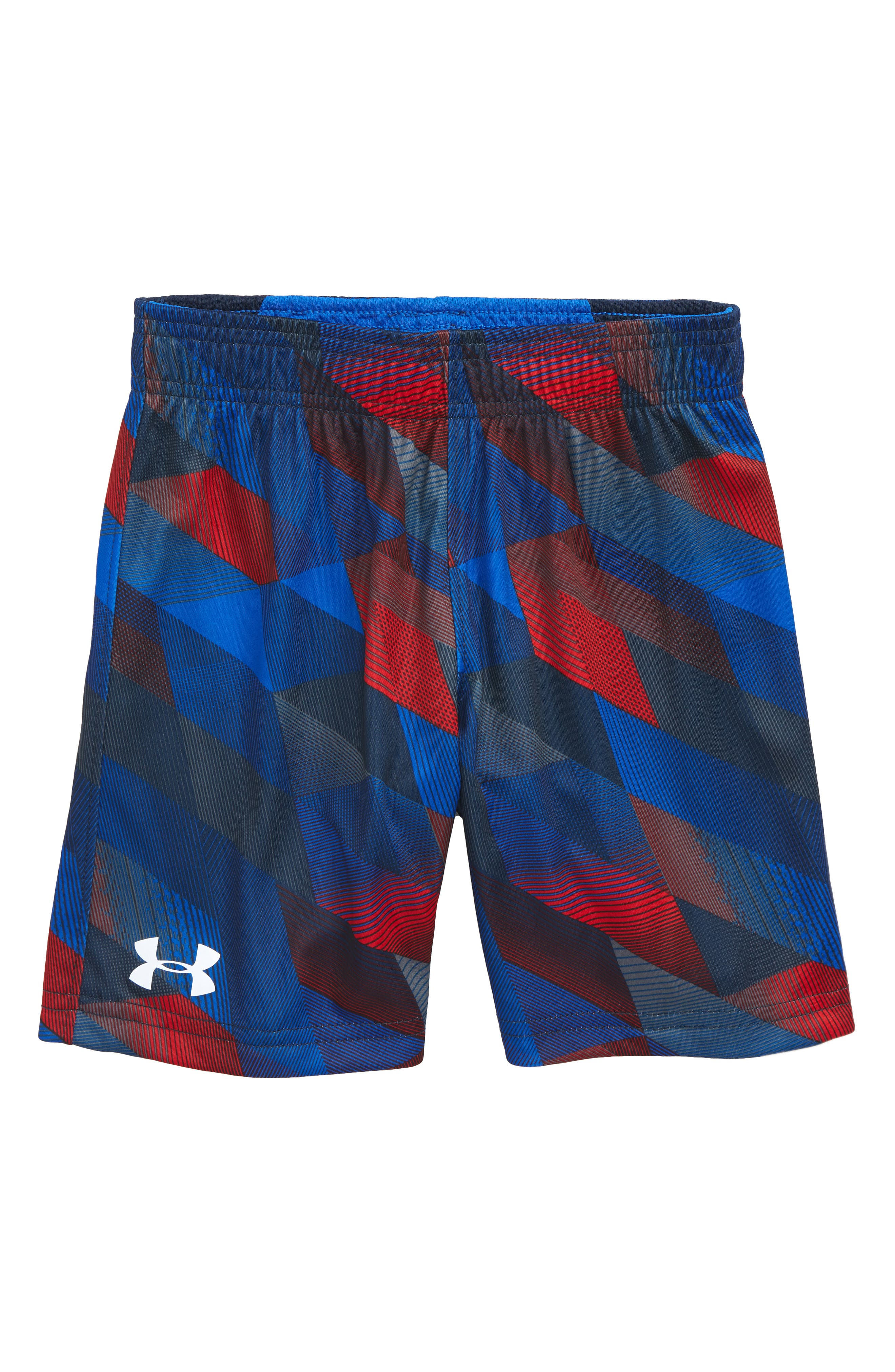 Electric Field Reversible HeatGear<sup>®</sup> Shorts,                         Main,                         color, Ultra Blue Electric Fields