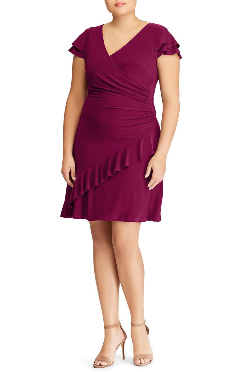 Hartley Ruffle Fit  Flare Dress