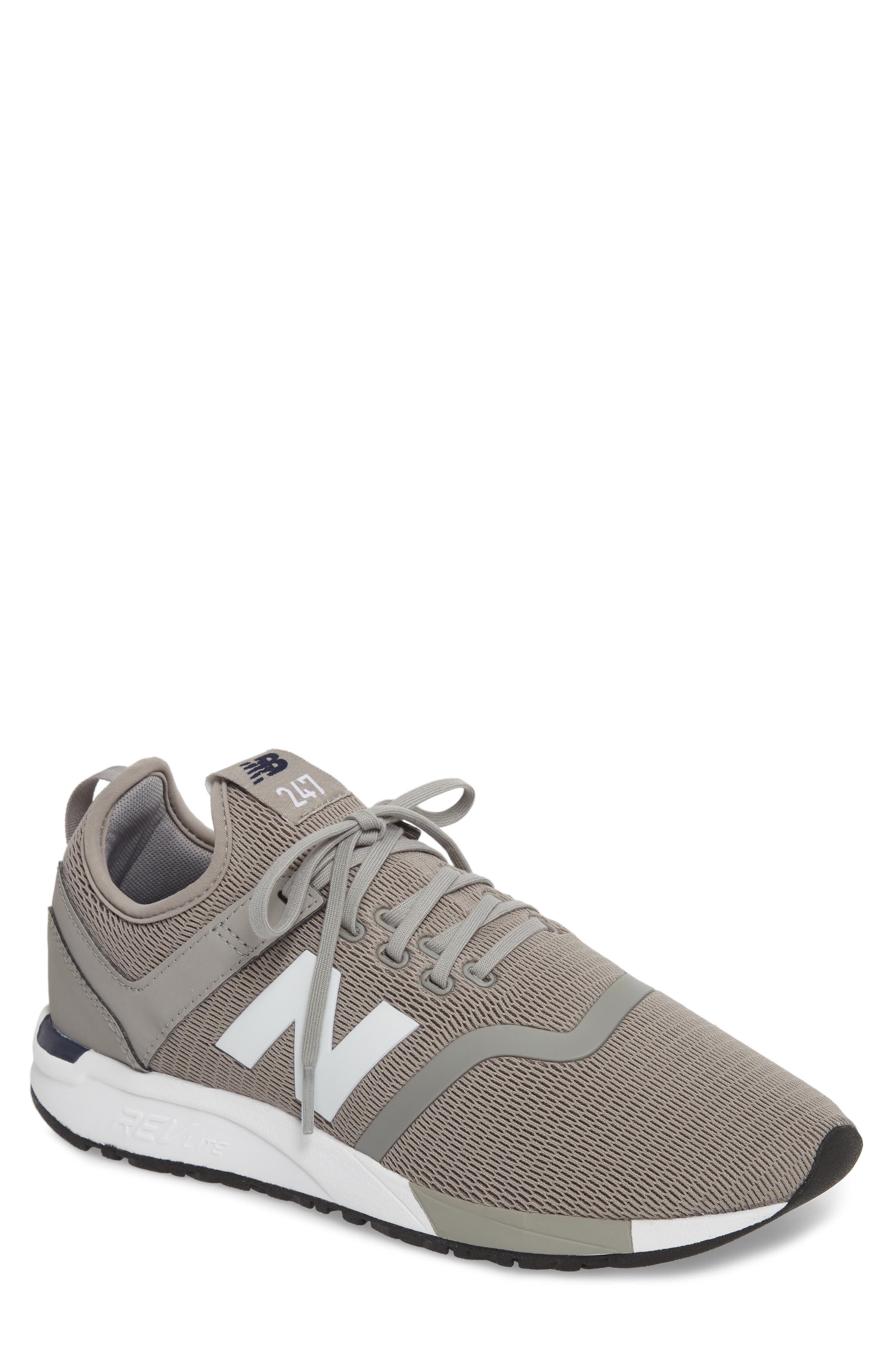 247 Sneaker,                             Main thumbnail 1, color,                             Steel