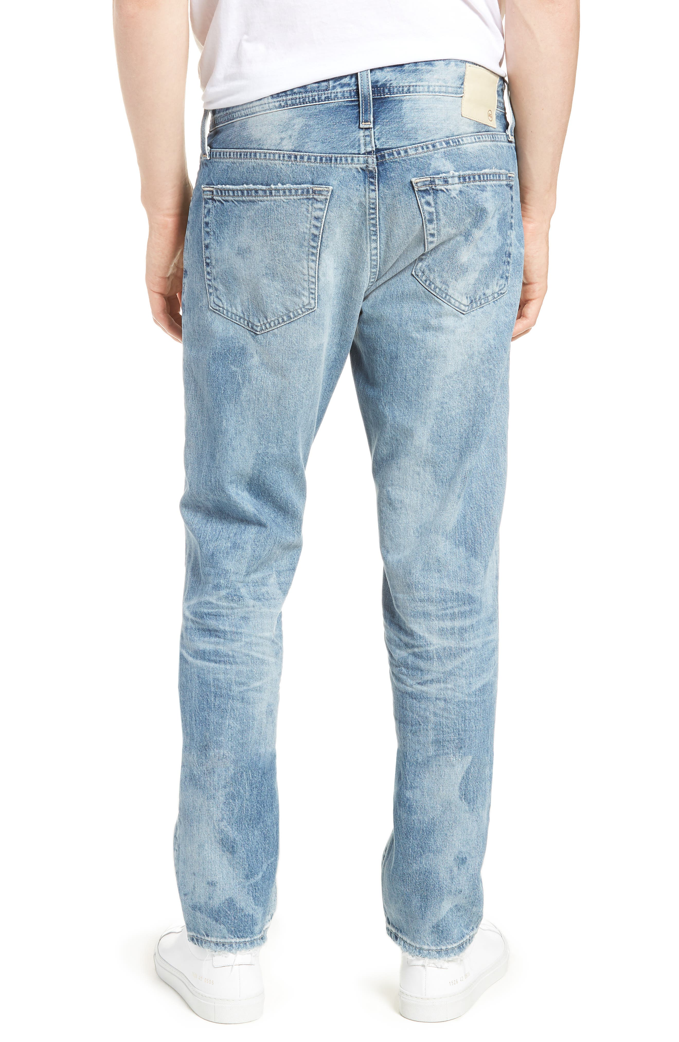 Tellis Slim Fit Jeans,                             Alternate thumbnail 2, color,                             23 Years Shearwater