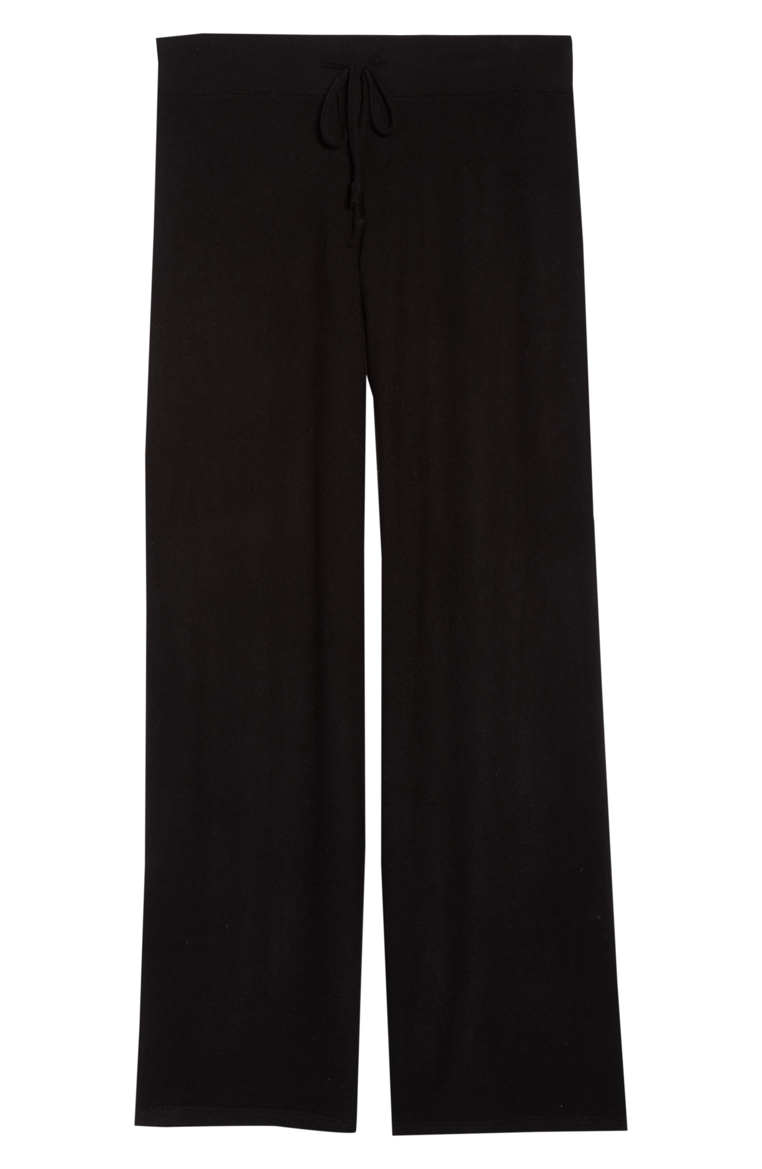 Alternate Image 1 Selected - Make + Model 'Best Boyfriend' Brushed Hacci Lounge Pants (Plus Size)