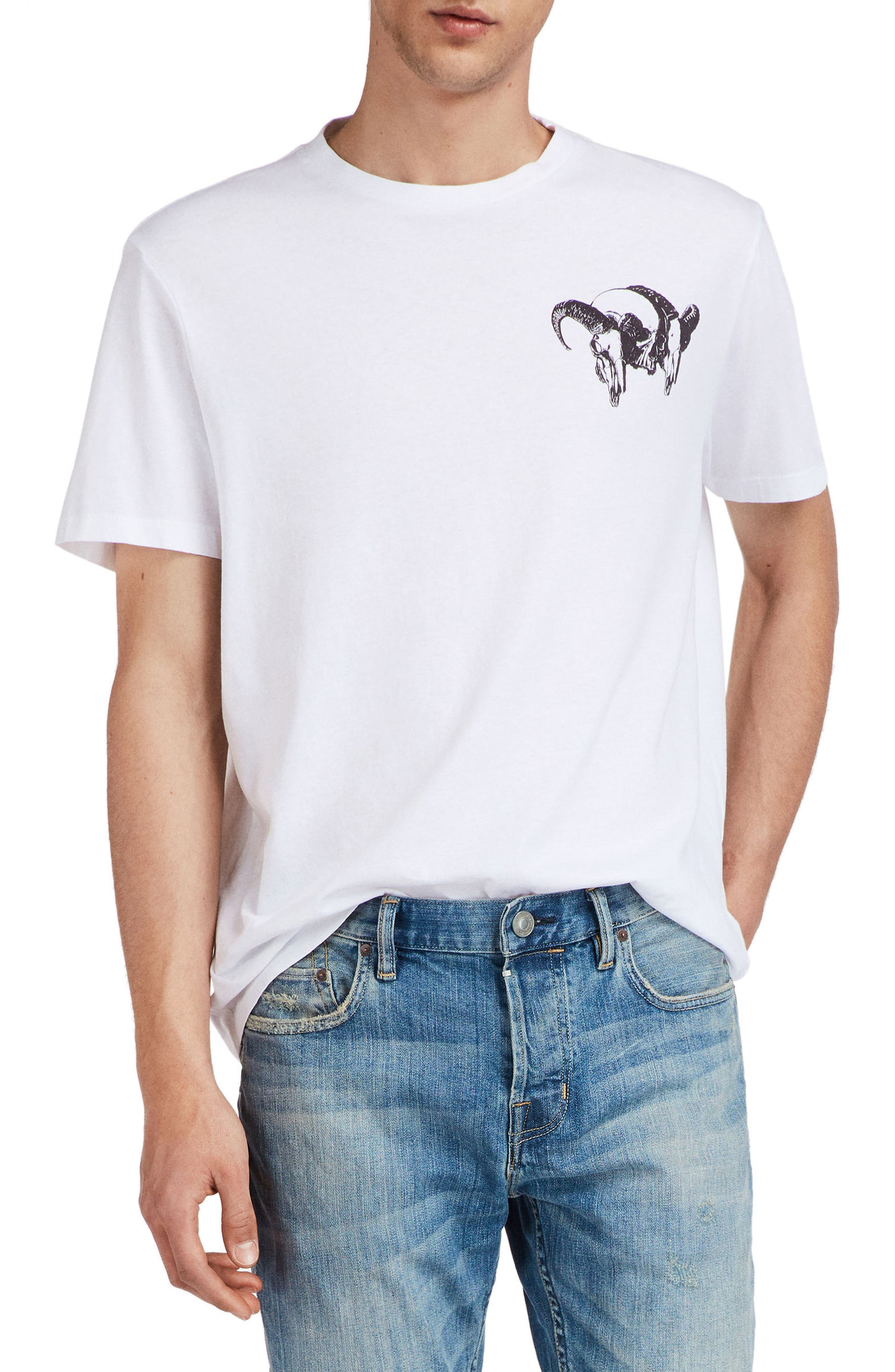 Tryst Graphic T-Shirt,                             Main thumbnail 1, color,                             Optic White