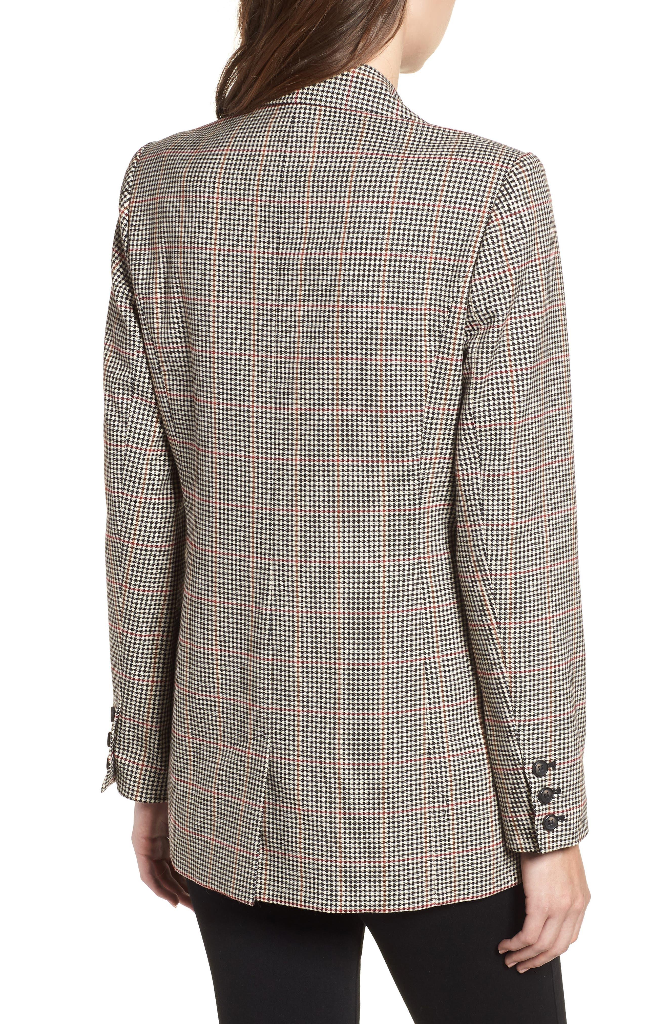 Menswear Blazer,                             Alternate thumbnail 2, color,                             London Check