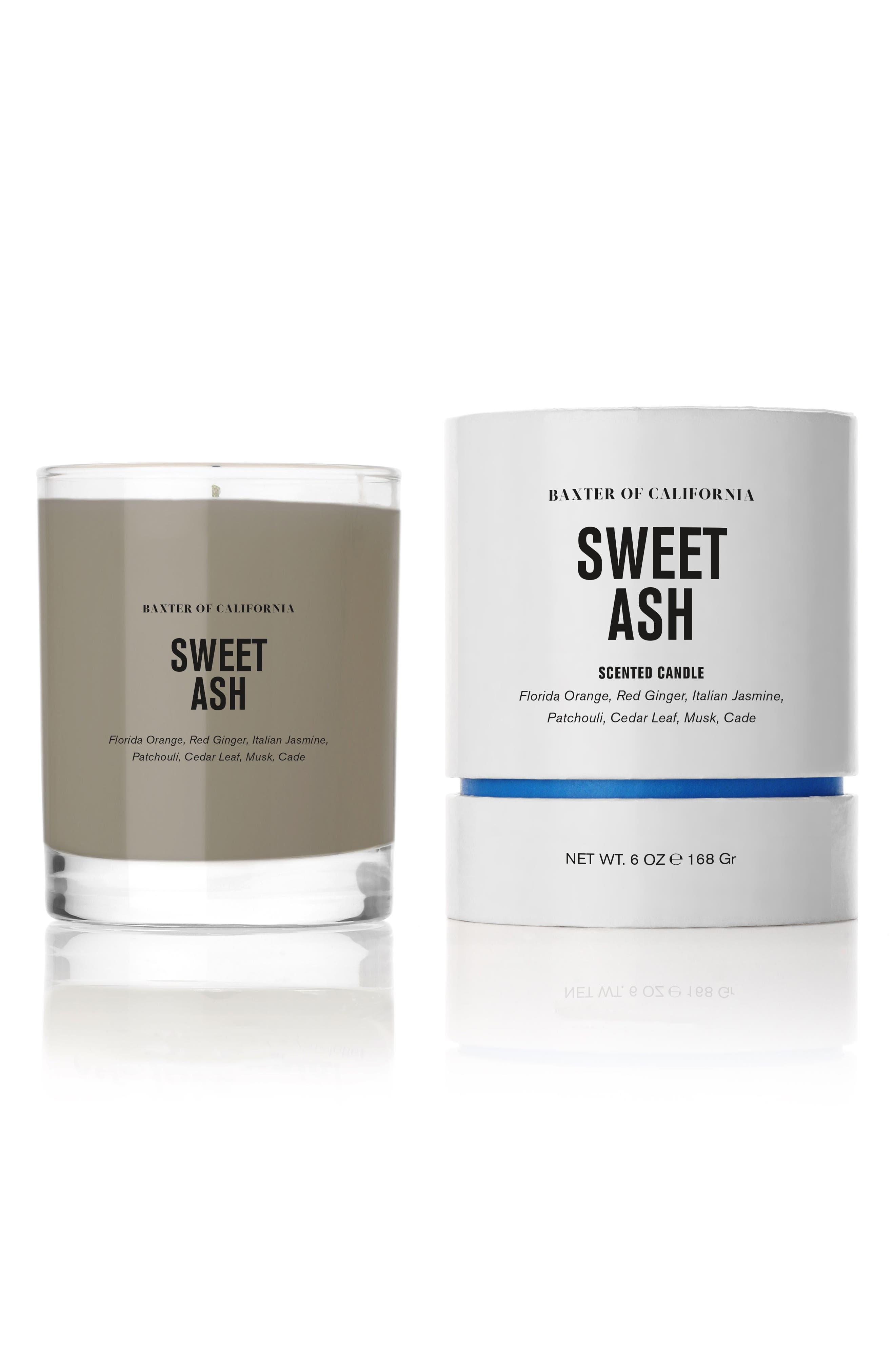 Sweet Ash Candle,                             Alternate thumbnail 2, color,                             No Color