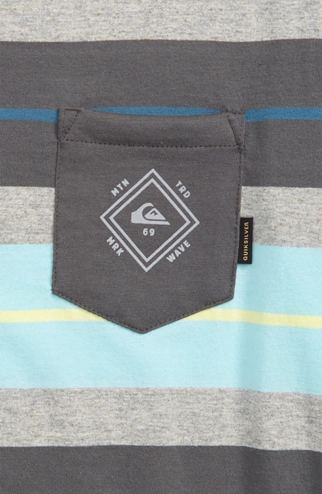 Oloa Stripe T-Shirt,                             Alternate thumbnail 2, color,                             Iron Gate