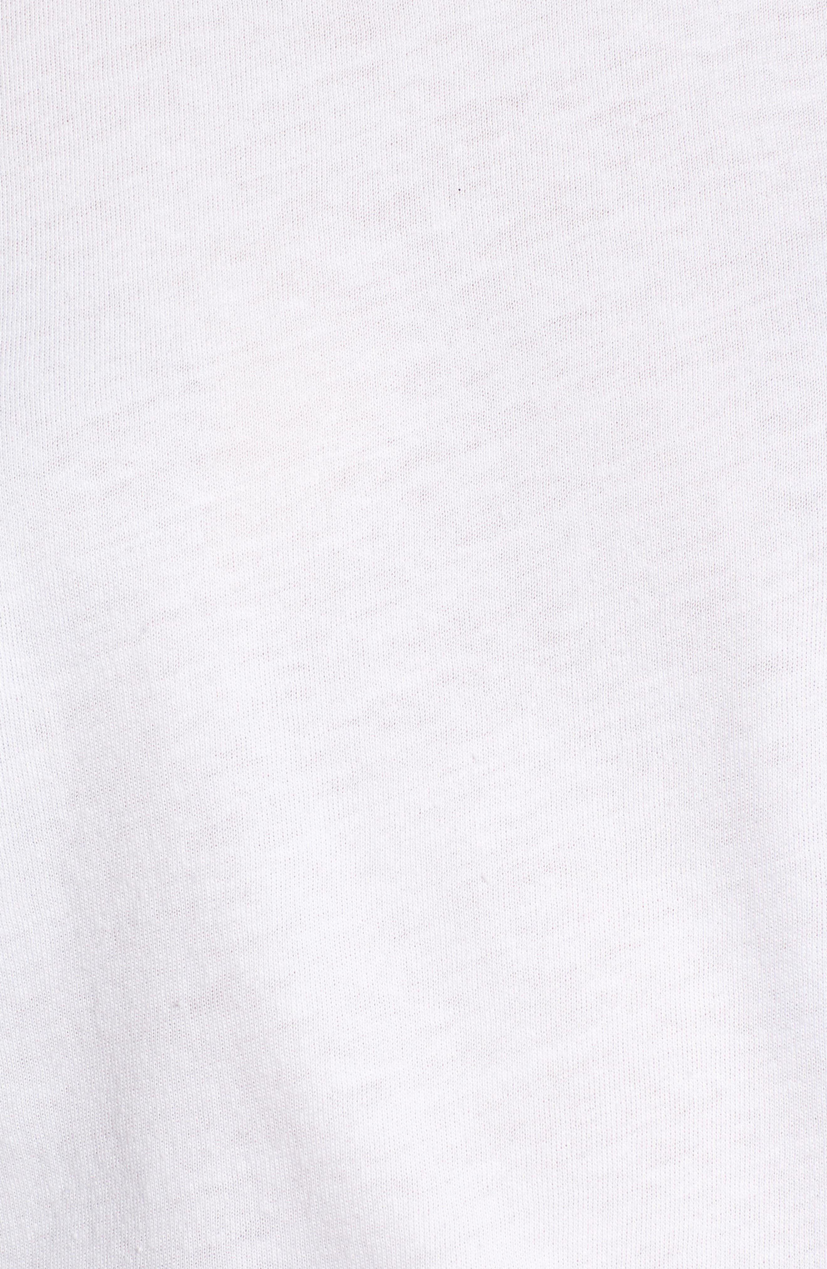 Beet It Slouched Tee,                             Alternate thumbnail 5, color,                             White