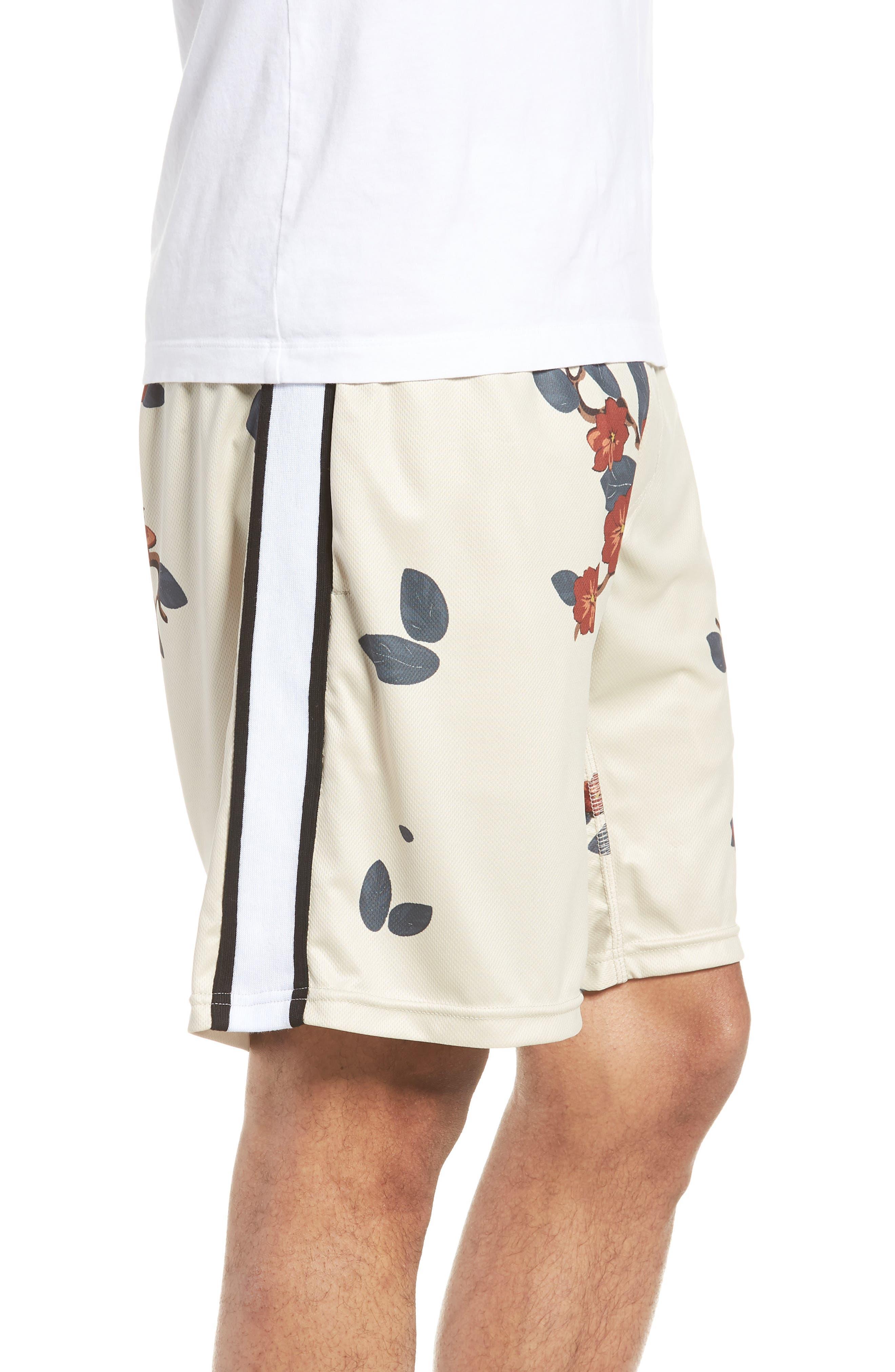 Bloom Sideline Shorts,                             Alternate thumbnail 3, color,                             Natural