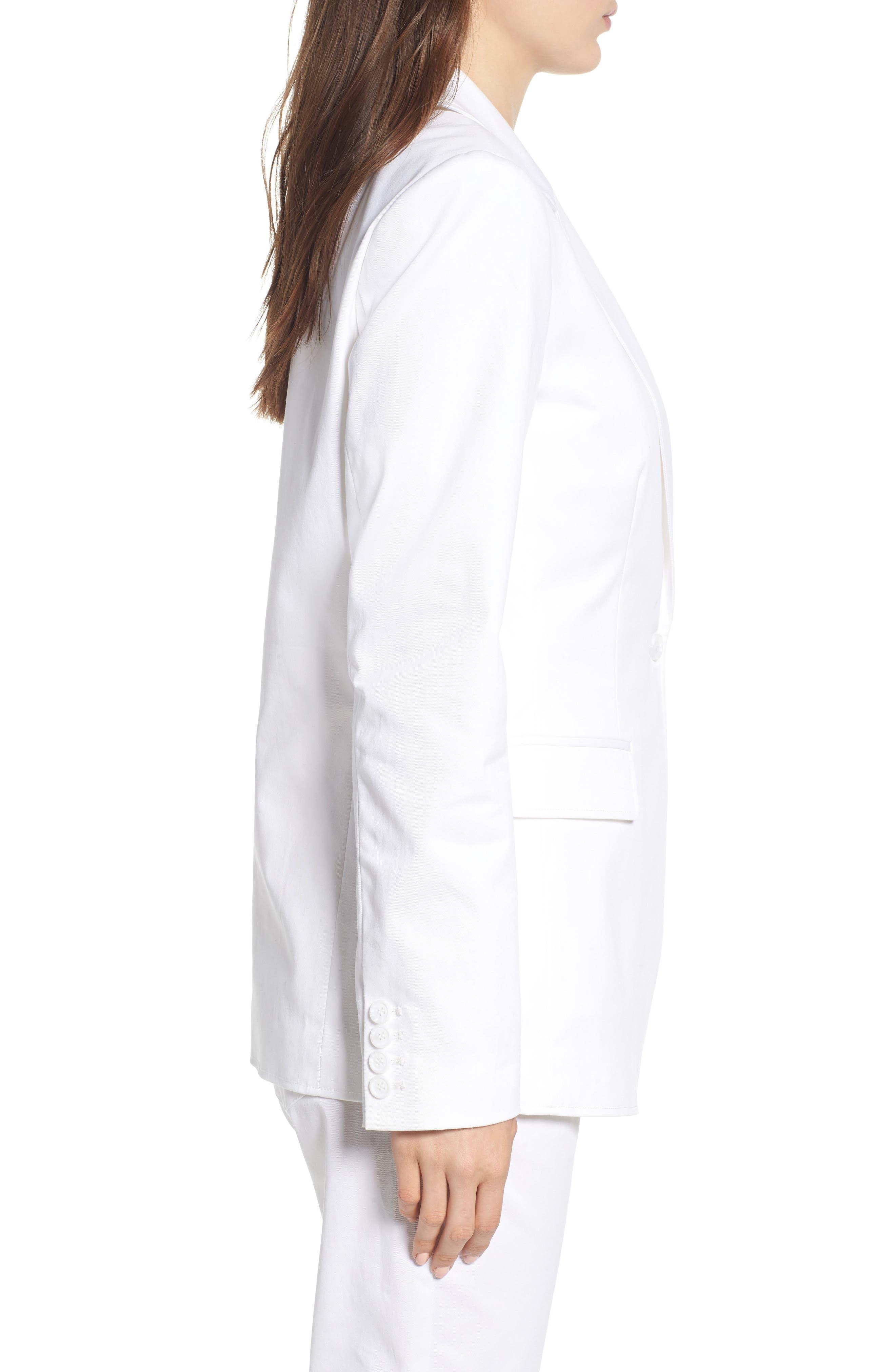Merilee Jacket,                             Alternate thumbnail 3, color,                             White