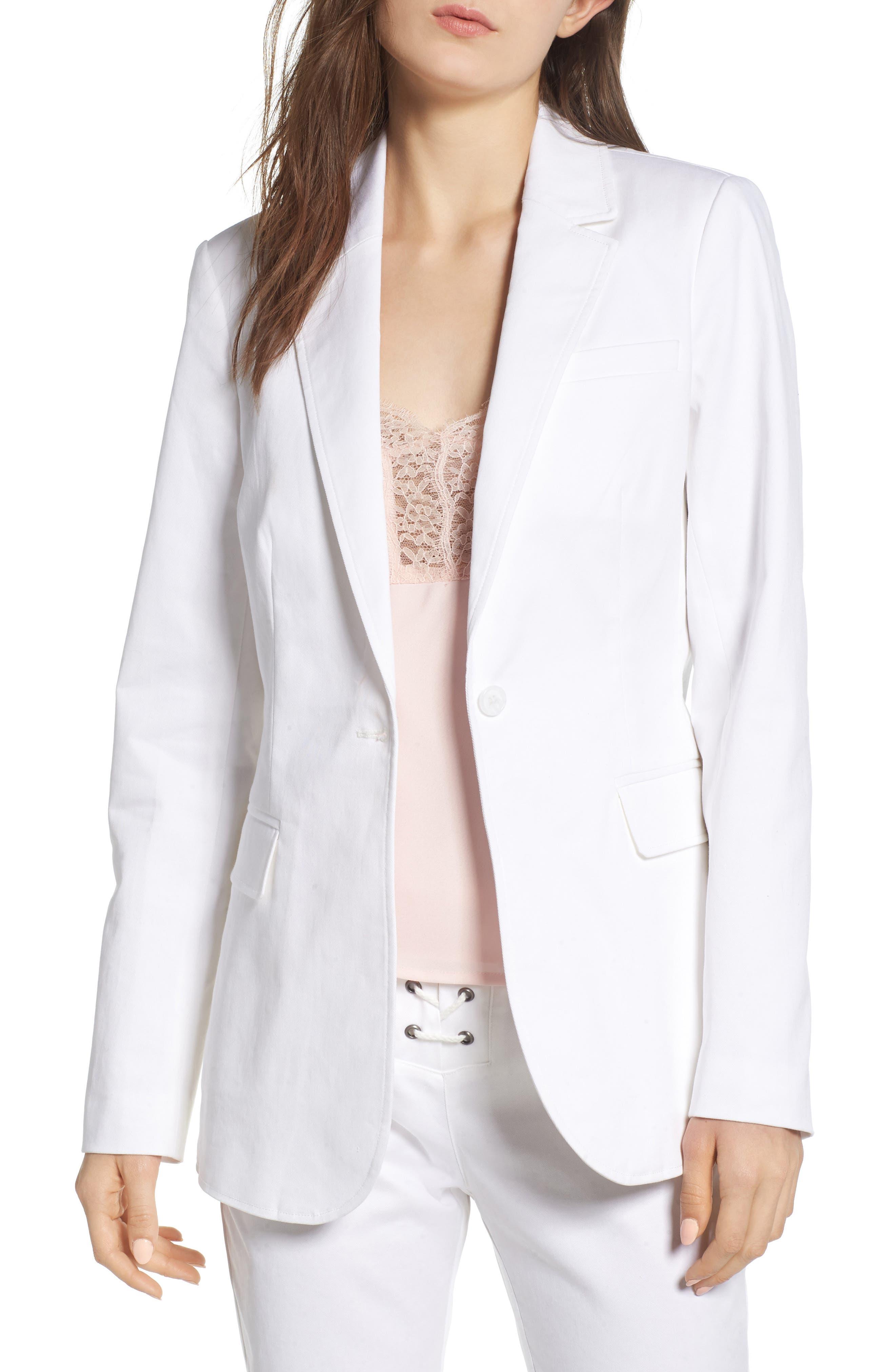 Merilee Jacket,                             Main thumbnail 1, color,                             White