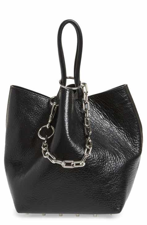 6f40c4377a Alexander Wang Small Roxy Leather Tote Bag